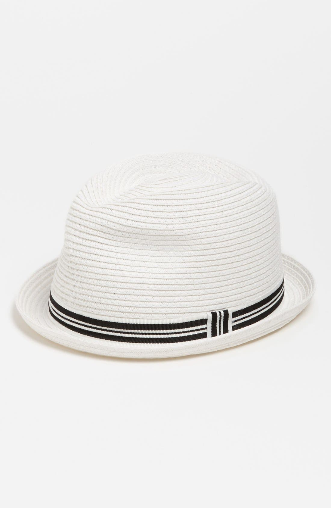 Main Image - The Accessory Collective Straw Fedora (Boys)