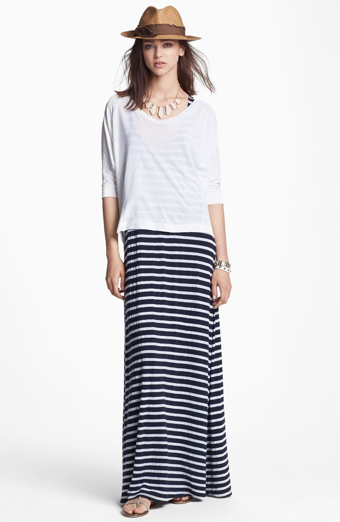 Alternate Image 1 Selected - Splendid Tee & Maxi Dress