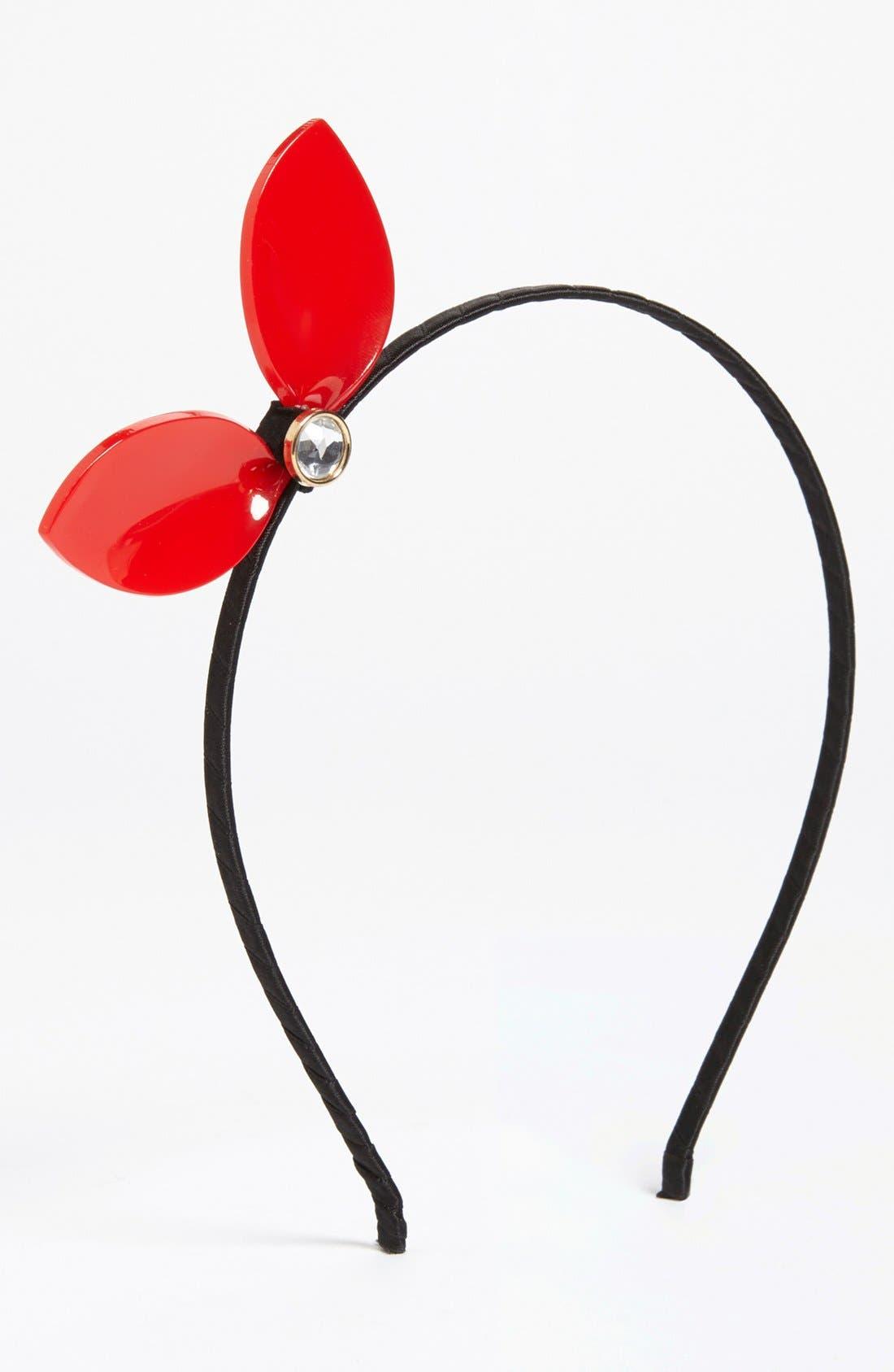 Alternate Image 1 Selected - Cara 'Bow Ear' Headband (Girls)