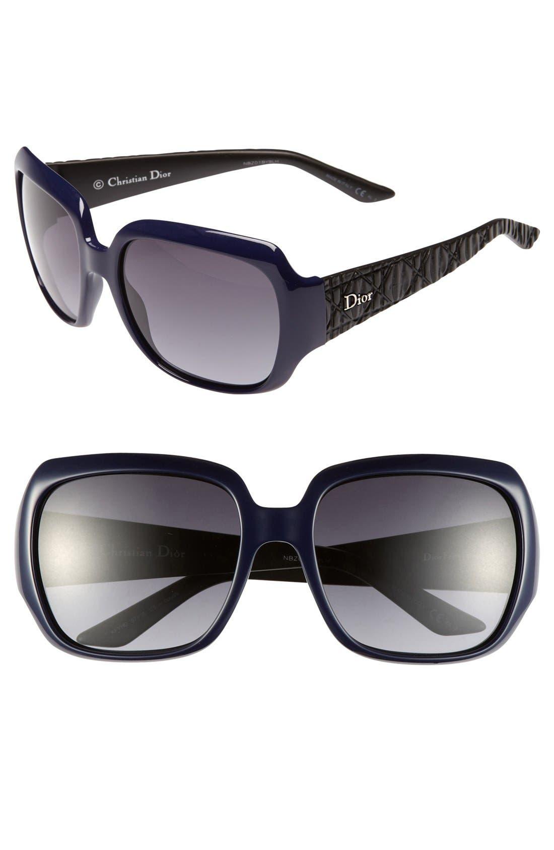 Main Image - Dior 'Classic' 57mm Sunglasses