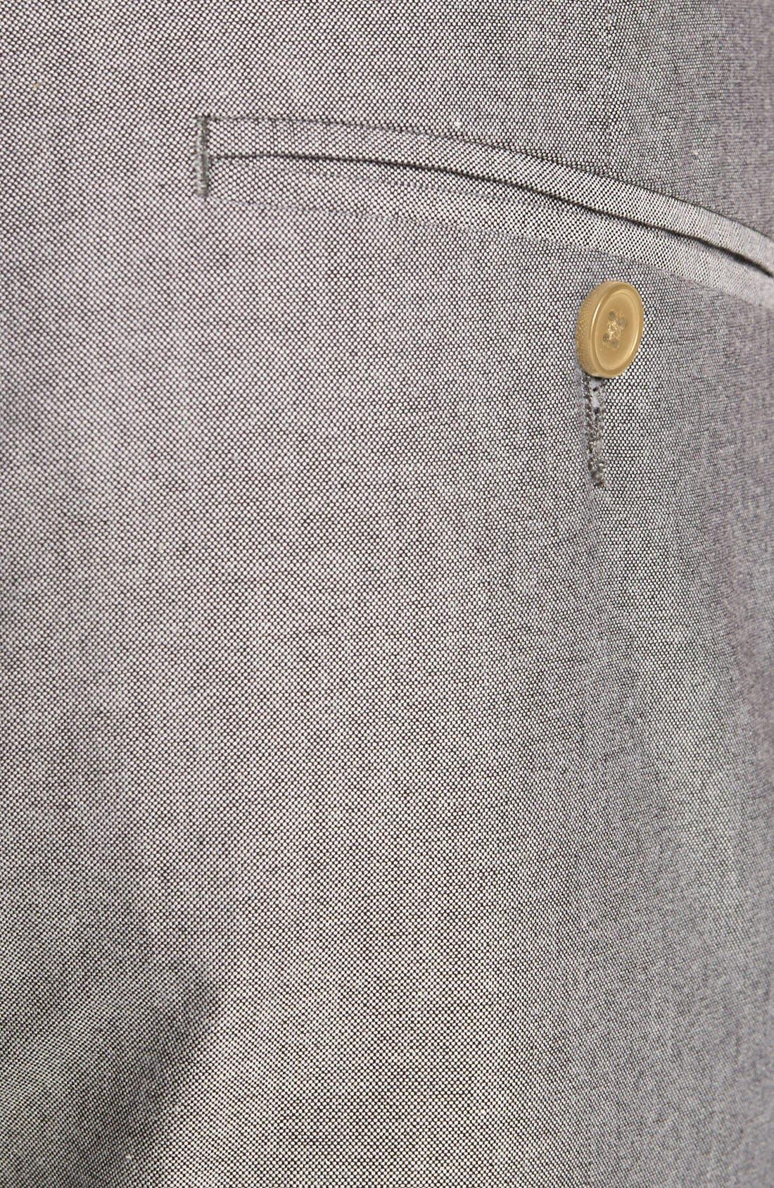Alternate Image 3  - Topman Skinny Oxford Trousers