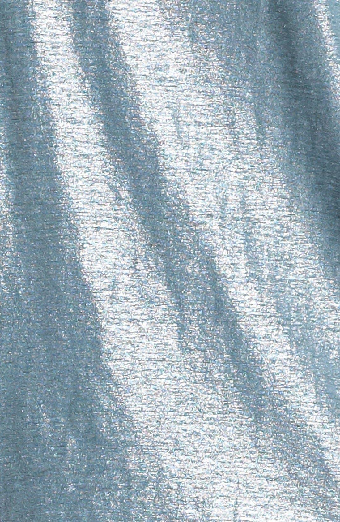 Alternate Image 3  - Eileen Fisher Metallic Knit Wedge Top