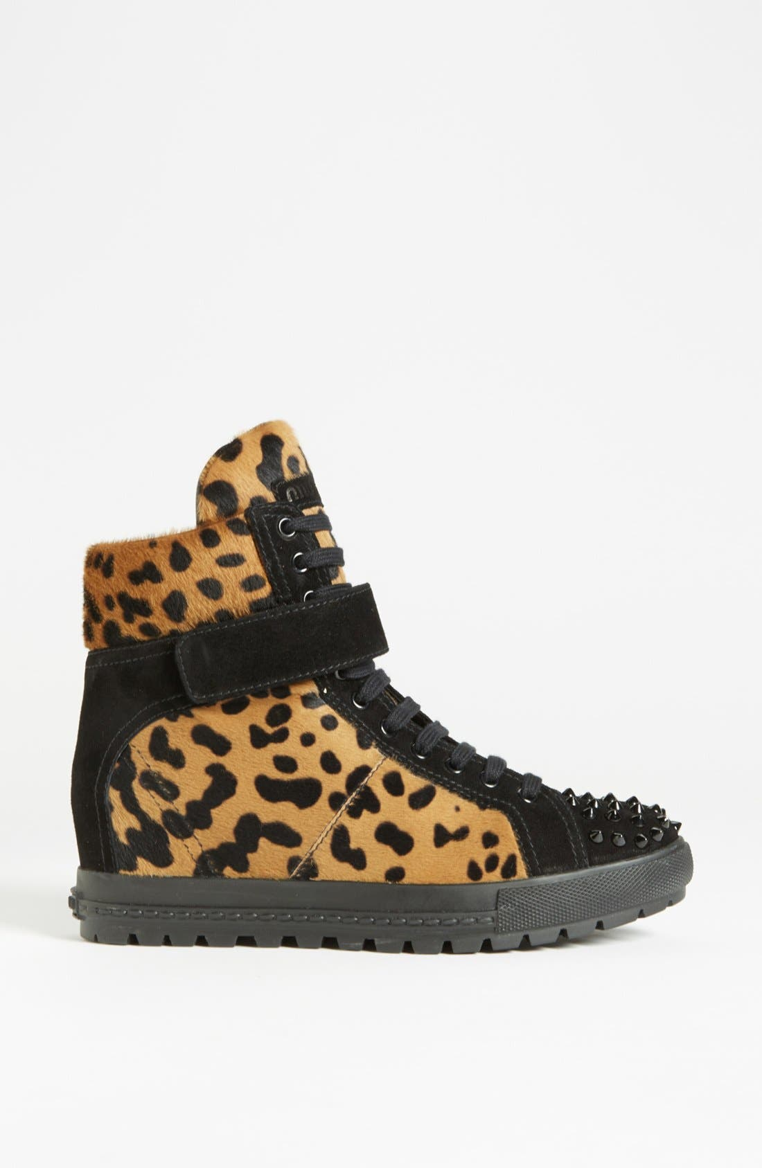 Alternate Image 4  - Miu Miu Wedge Sneaker