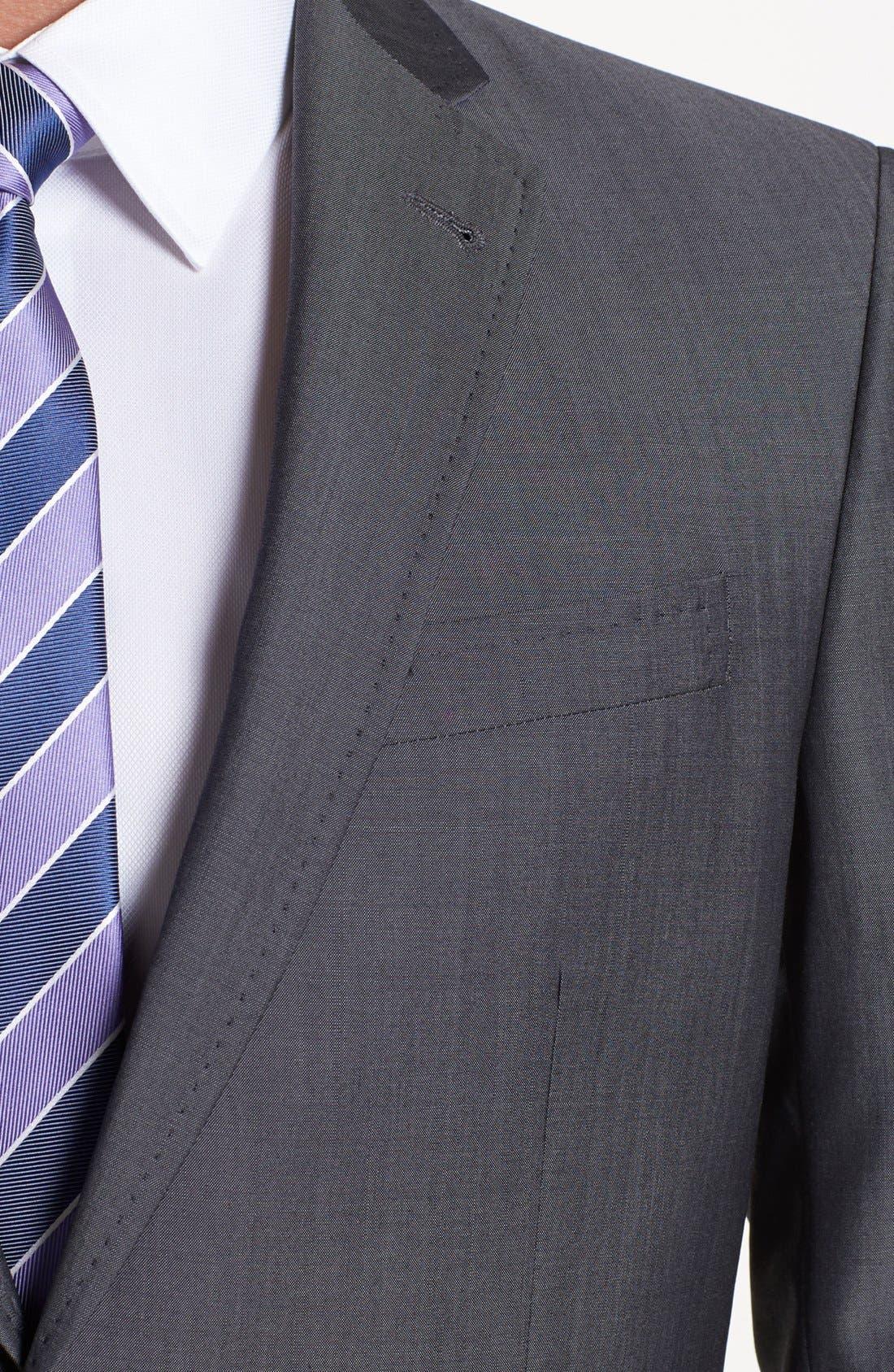 Alternate Image 2  - Ted Baker London 'Jim' Grey Wool Suit