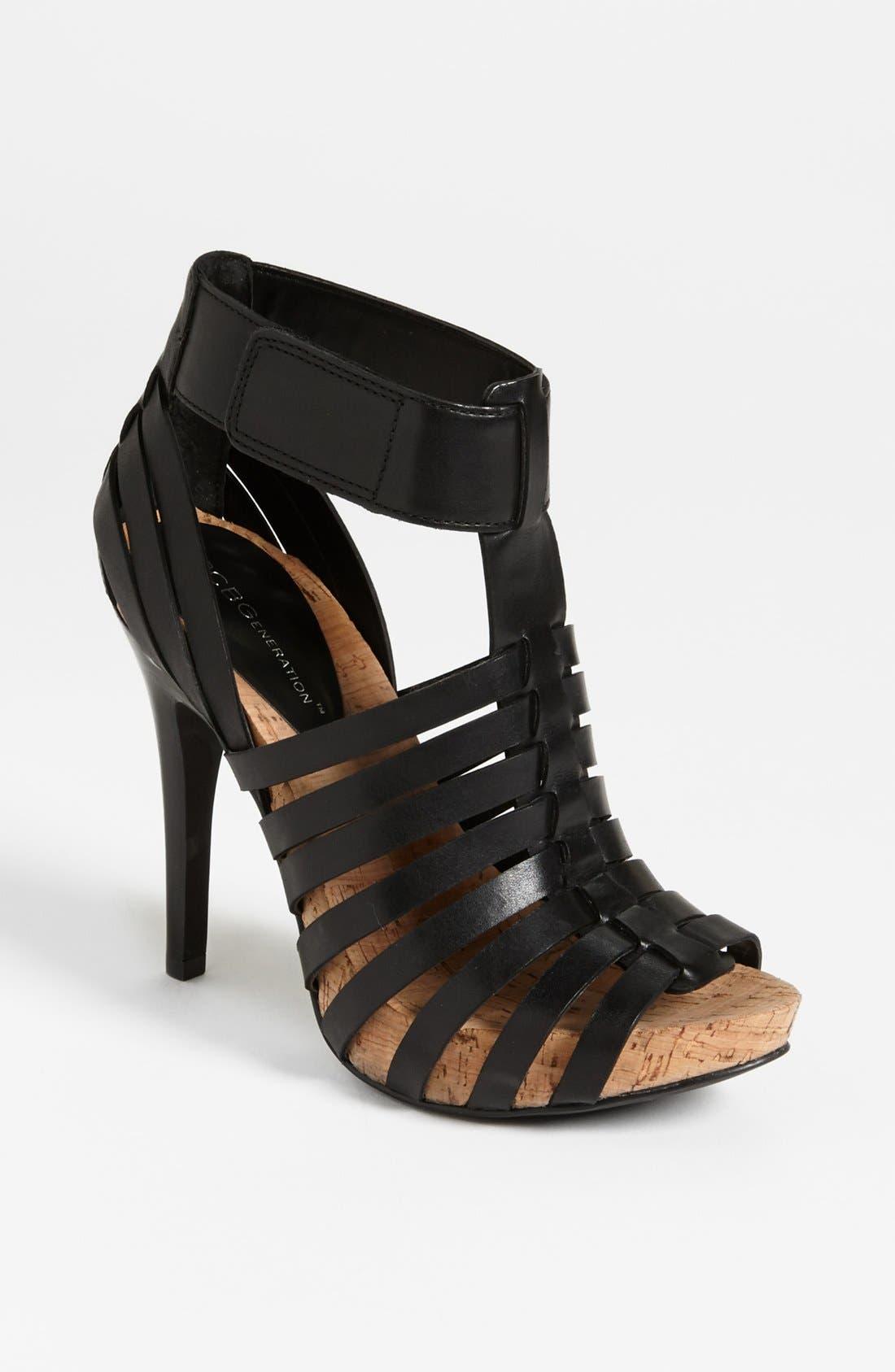 'Gerrie' Sandal,                         Main,                         color, Black