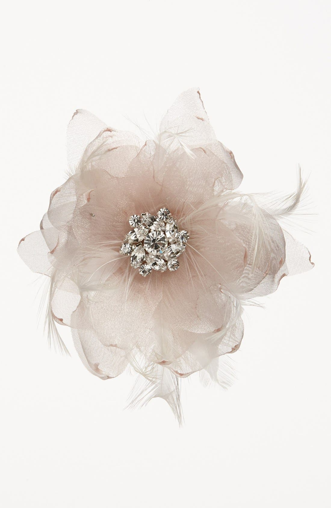 Alternate Image 3  - Serephine 'Renee' Bridal Hair Flower