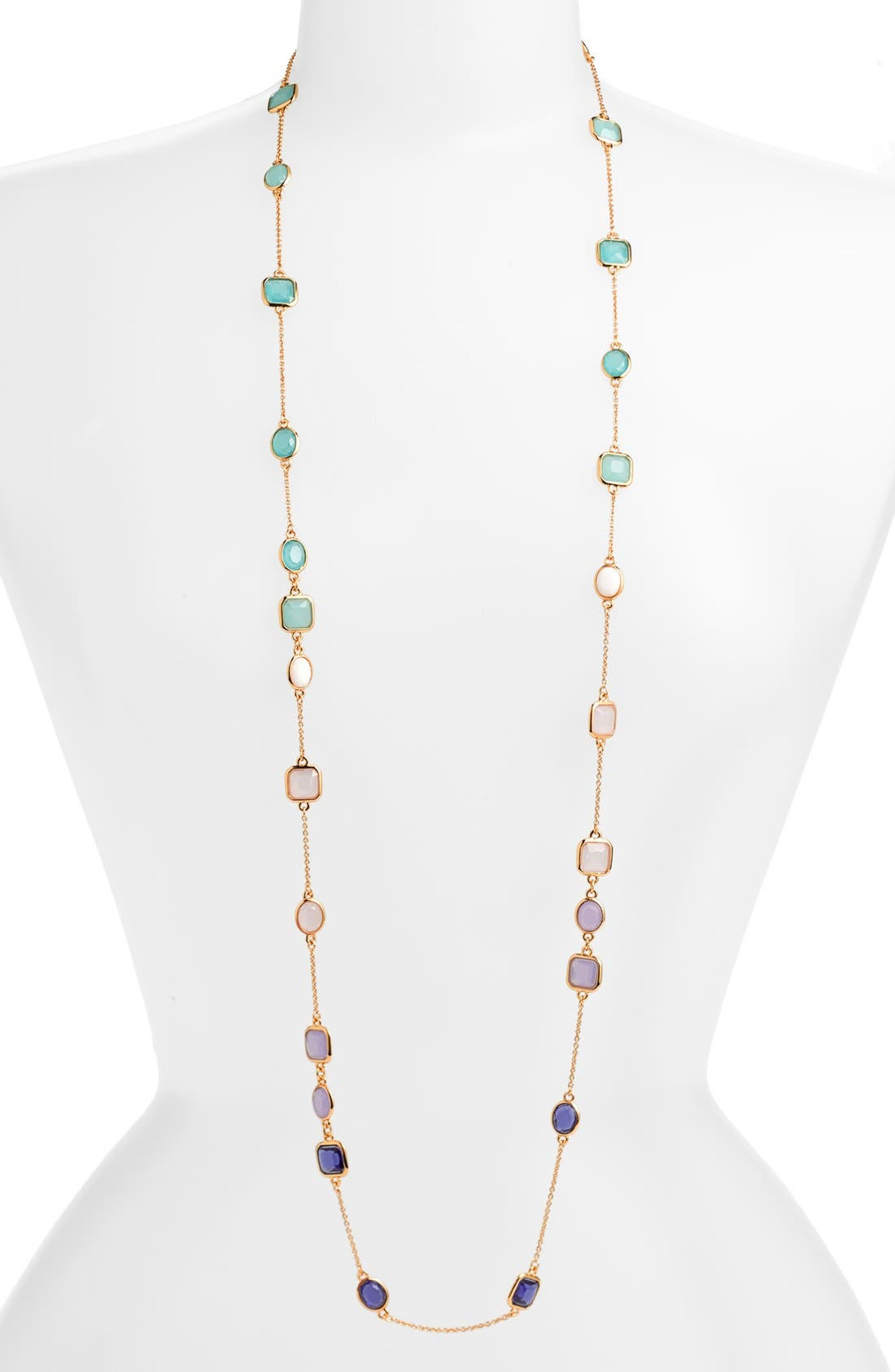 Main Image - kate spade new york 'coated confetti' extra long station necklace