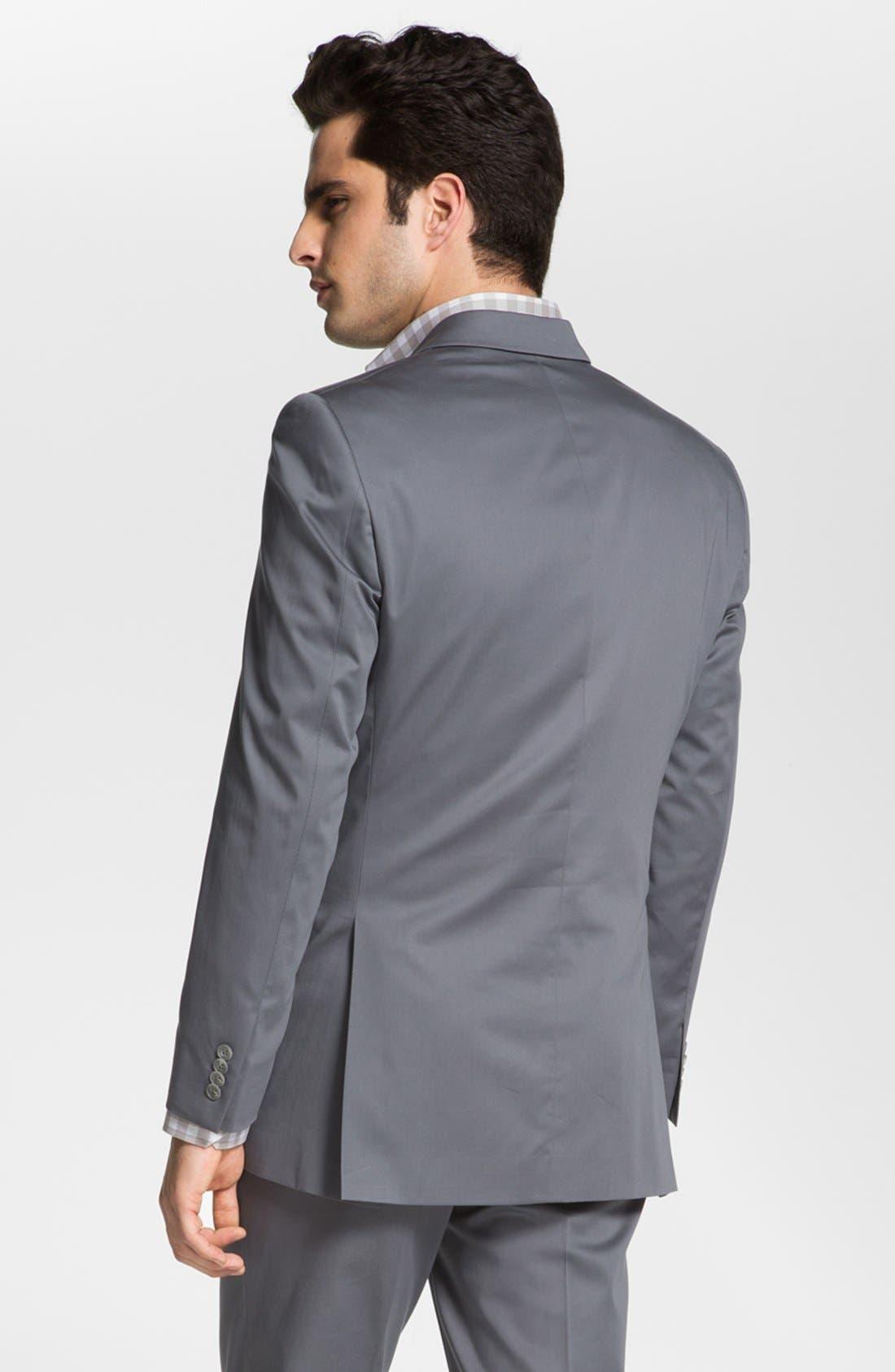 Alternate Image 3  - John Varvatos Star USA 'City' Trim Fit Cotton Blend Sportcoat