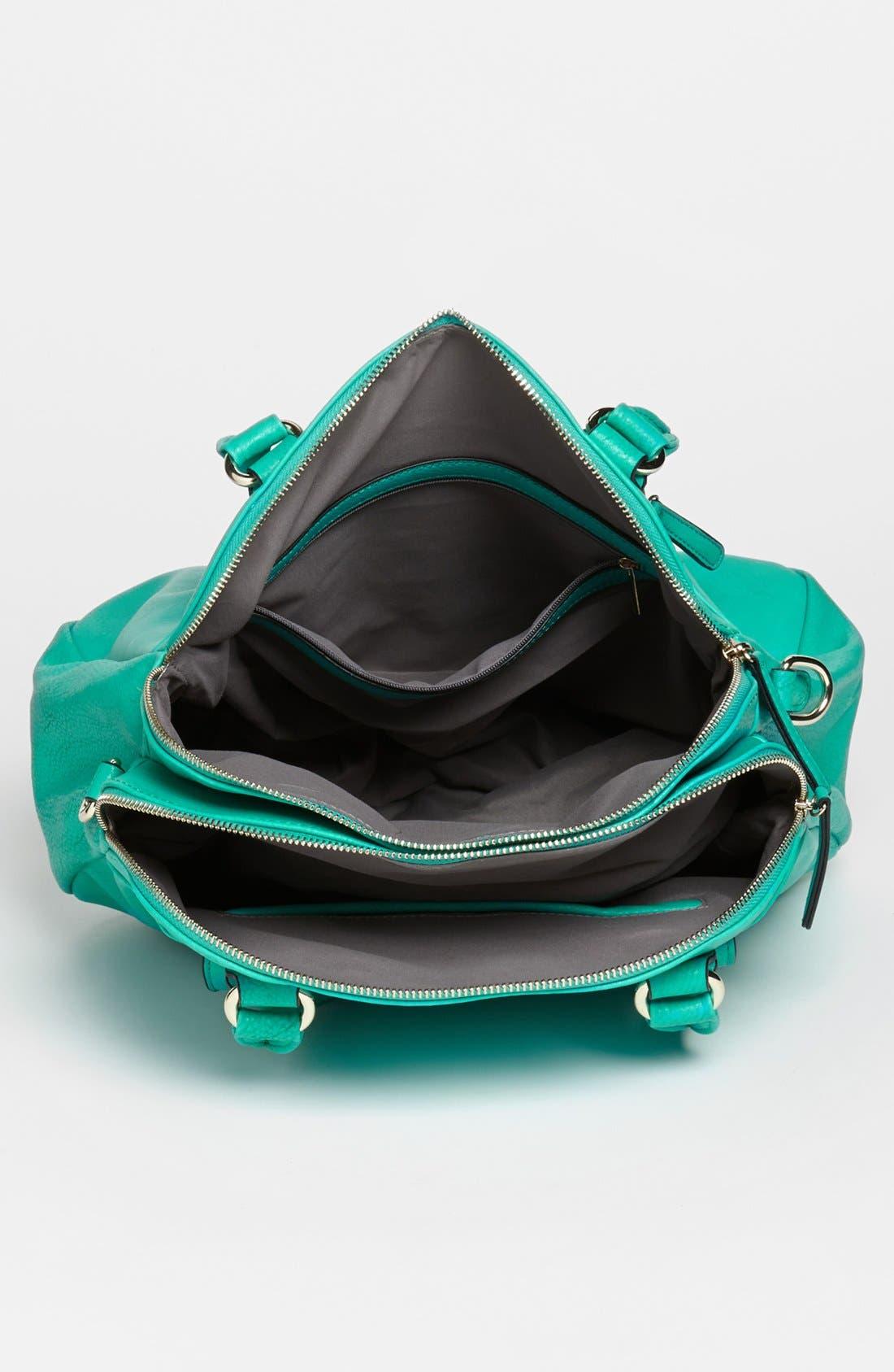 Alternate Image 3  - Emperia Faux Leather Tote Bag (Juniors)