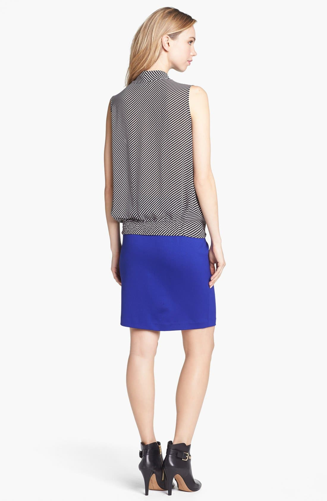Alternate Image 3  - Vince Camuto Front Zip Pencil Skirt