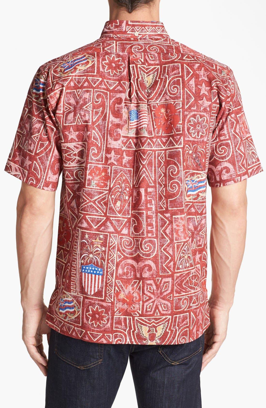 Alternate Image 2  - Reyn Spooner 'Summer Commemorative - 2013' Short Sleeve Sport Shirt