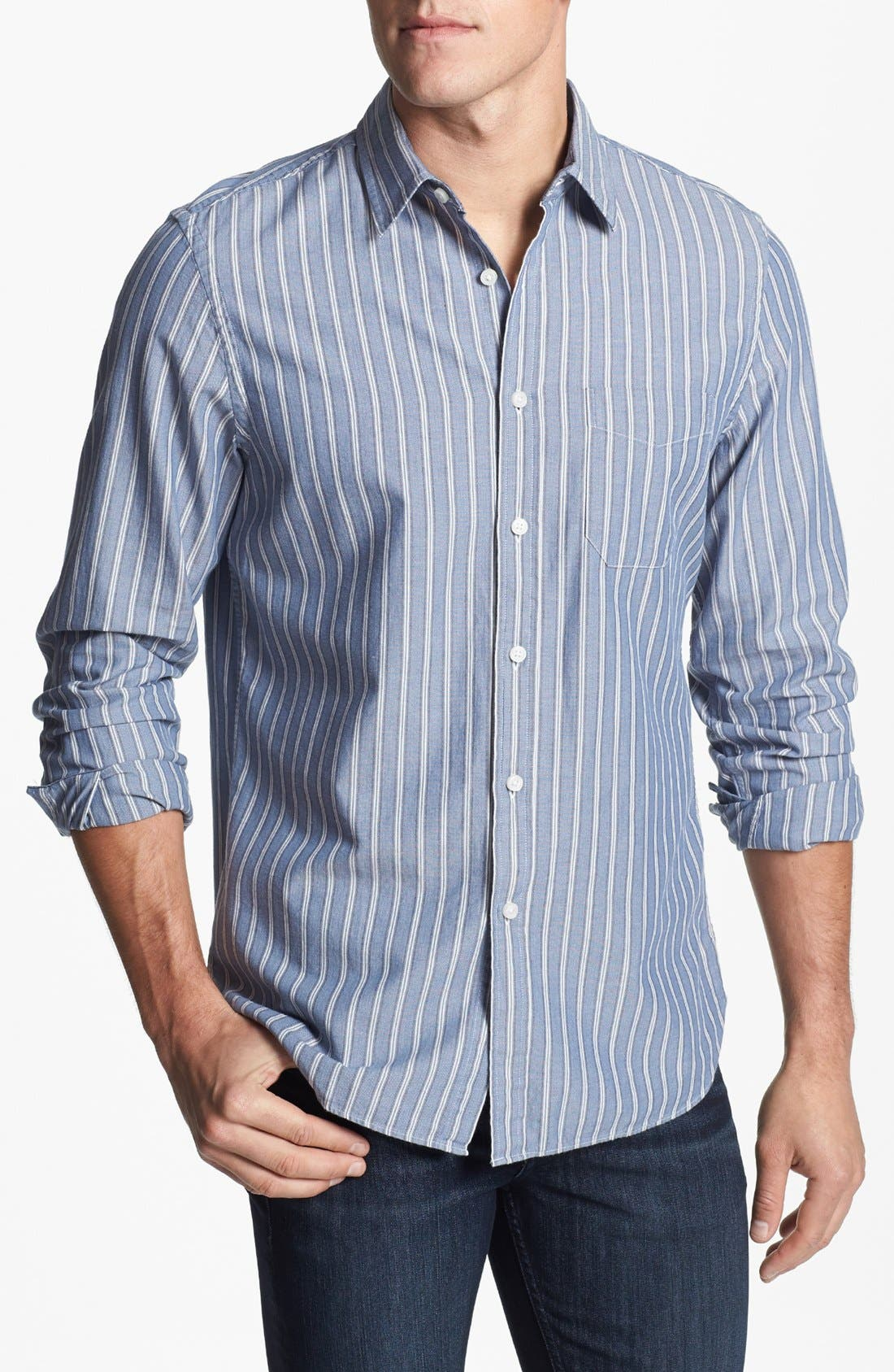 Main Image - Wallin & Bros. 'Signature' Trim Fit Sport Shirt