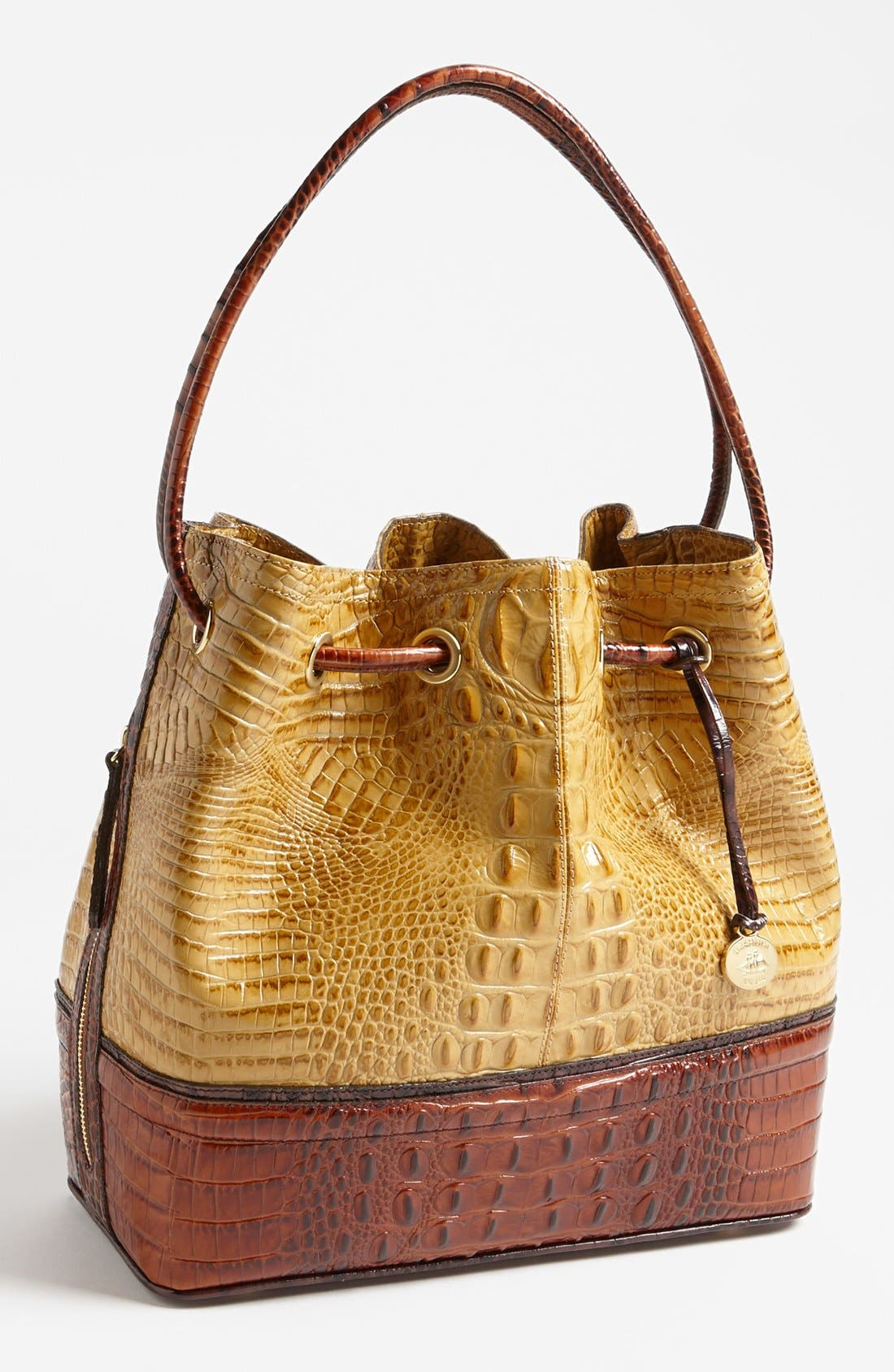 Alternate Image 1 Selected - Brahmin 'Trina' Tricolor Drawstring Tote