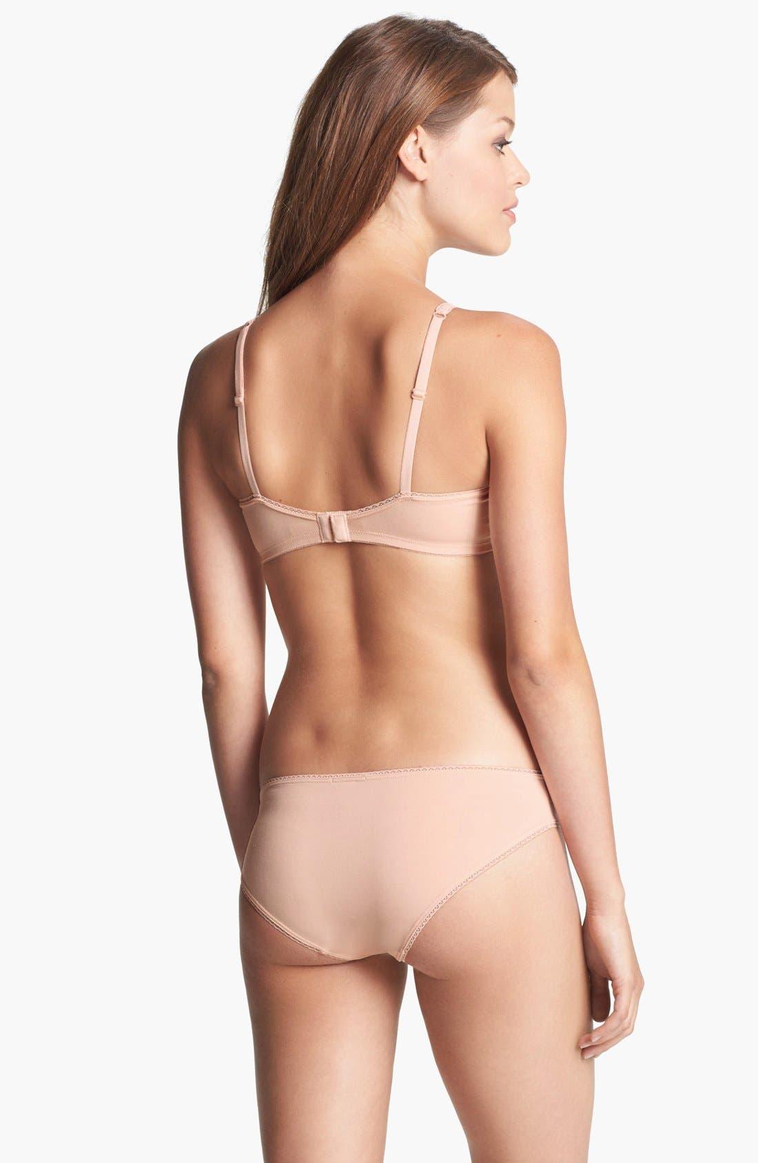 Alternate Image 4  - Eberjey 'Pima Goddess' Low Rise Bikini