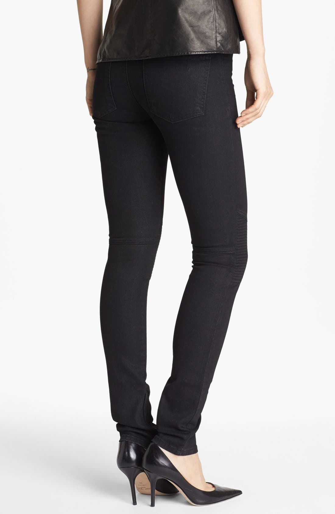 Alternate Image 2  - Vince Ankle Zip Skinny Stretch Jeans