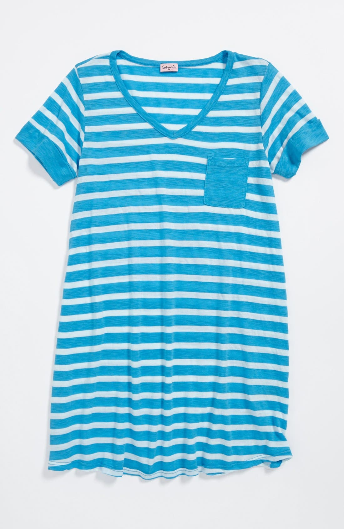 Main Image - Splendid Stripe Tunic (Big Girls)