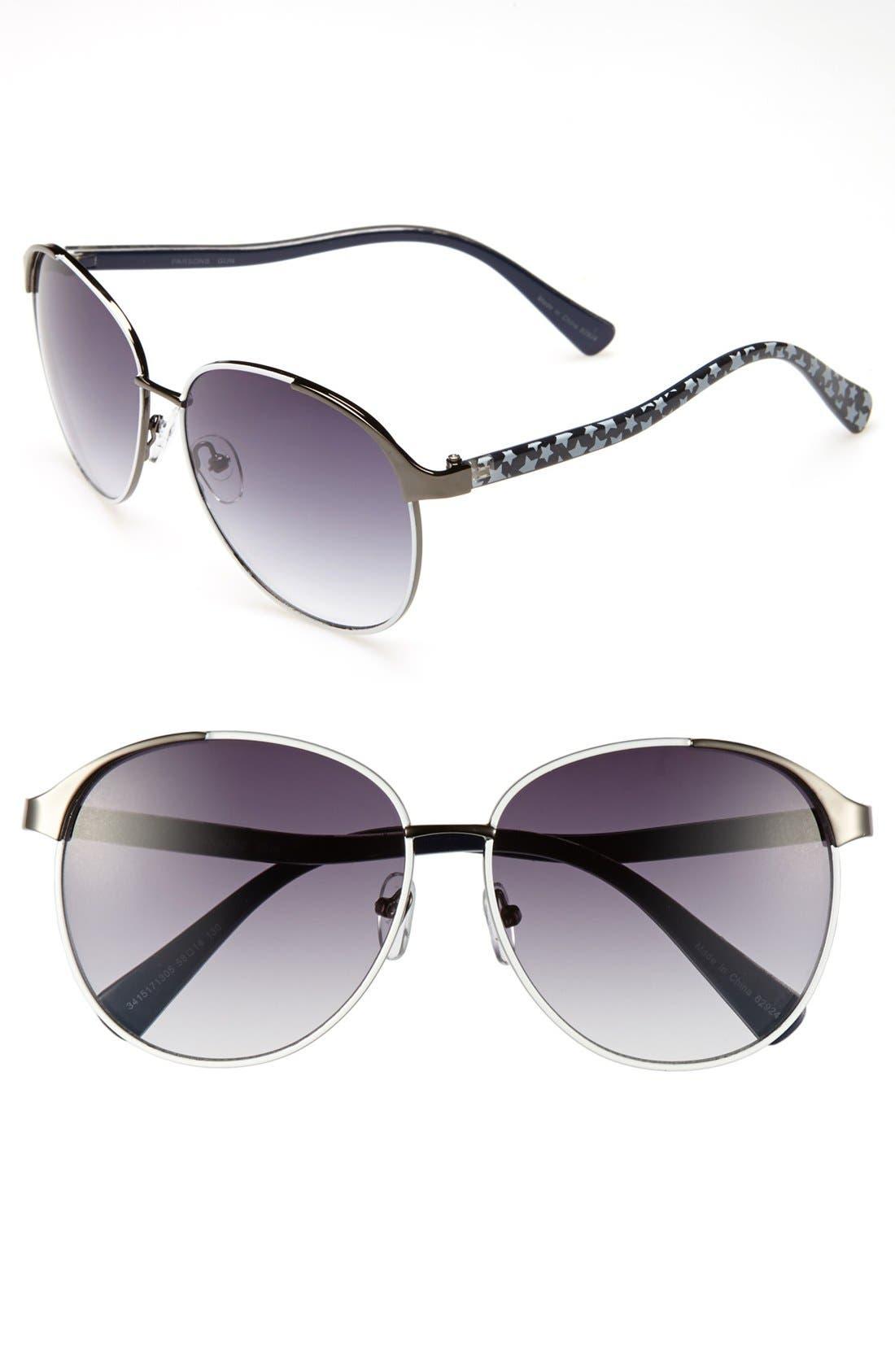 Alternate Image 1 Selected - Outlook Eyewear 'Parsons' 58mm Sunglasses