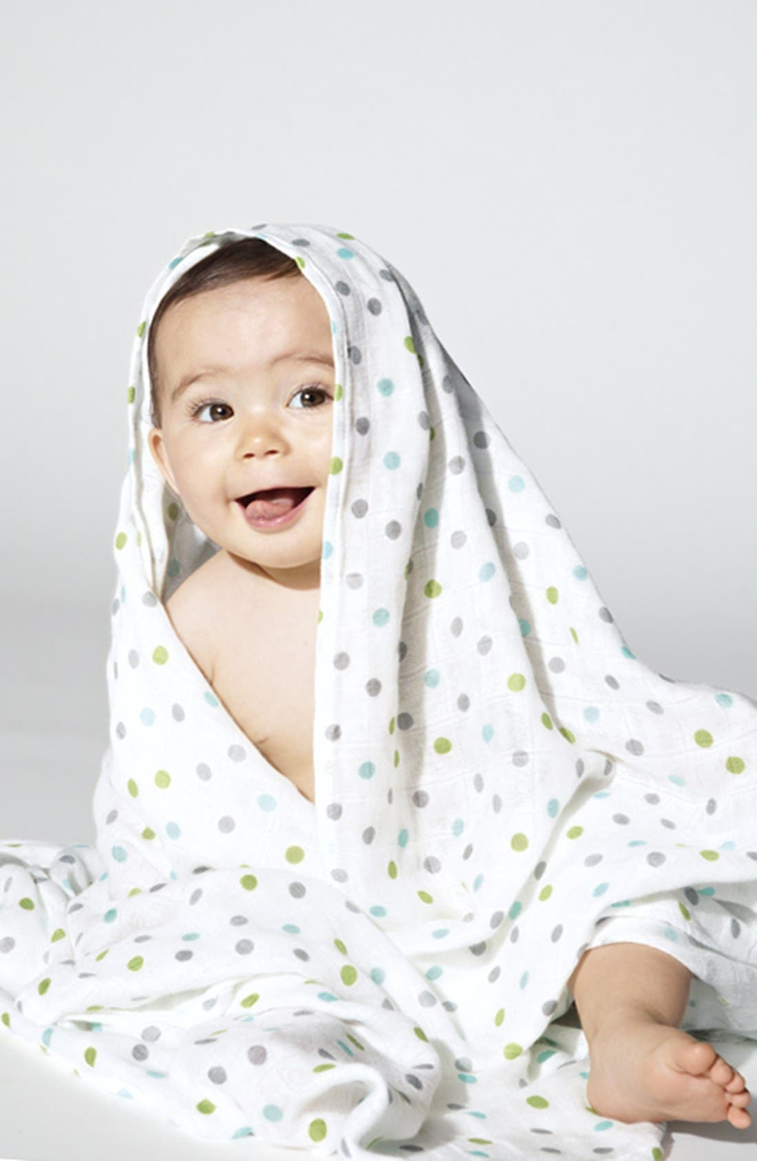 Alternate Image 2  - aden + anais Swaddling Cloths (3-Pack) (Nordstrom Exclusive)