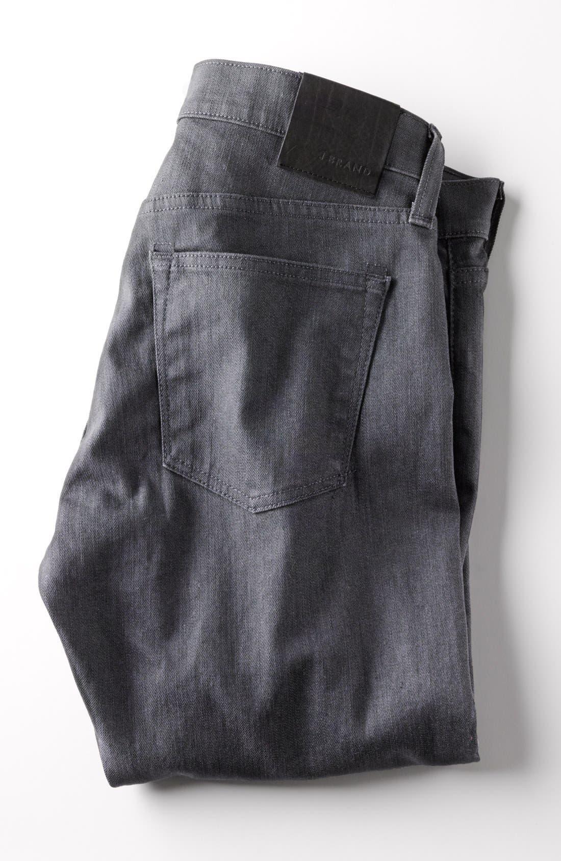 Alternate Image 7  - J Brand Tyler Slim Fit Jeans (Slate Resin)