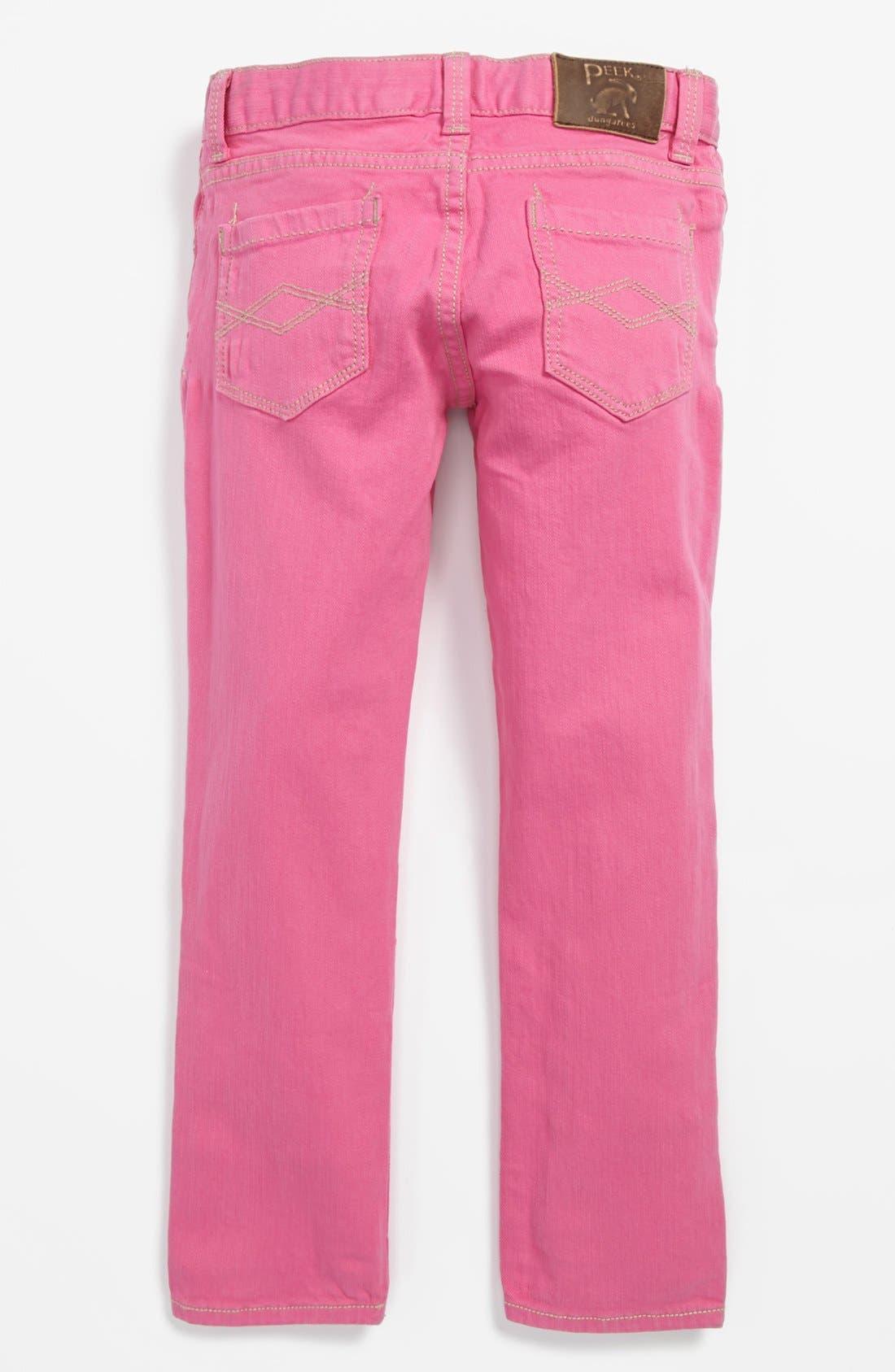 Main Image - Peek 'Dylan' Jeans (Toddler Girls, Little Girls & Big Girls)