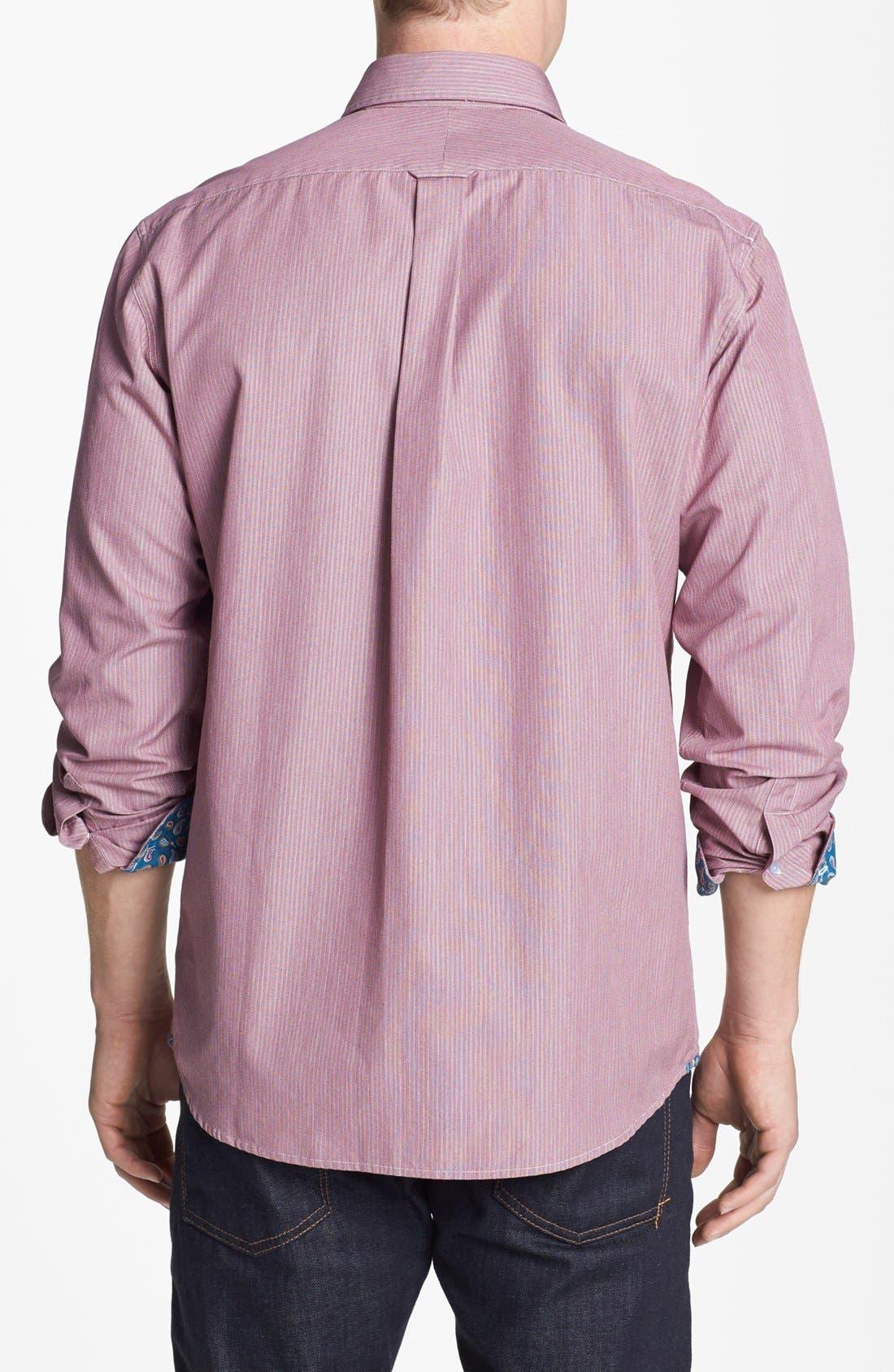 Alternate Image 2  - Façonnable Regular Fit Sport Shirt