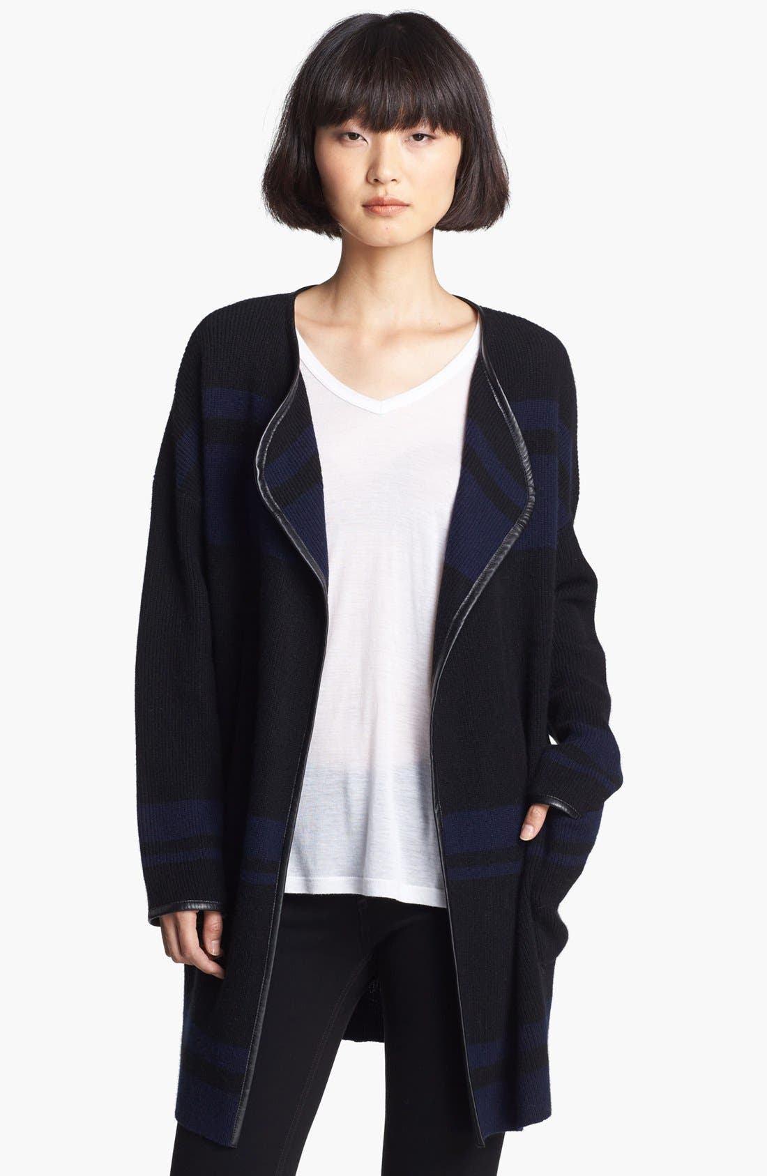 Alternate Image 1 Selected - Loma 'Nicole' Blanket Stripe Sweater