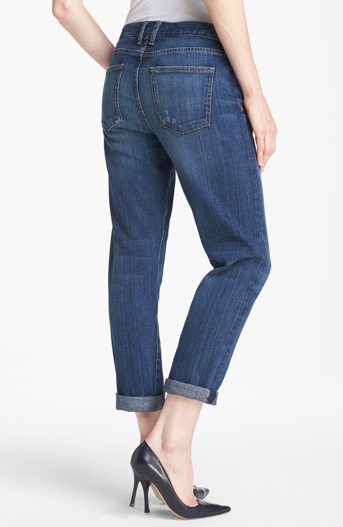 Alternate Image 2  - Current/Elliott 'The Fling' Rolled Jeans (Loved)