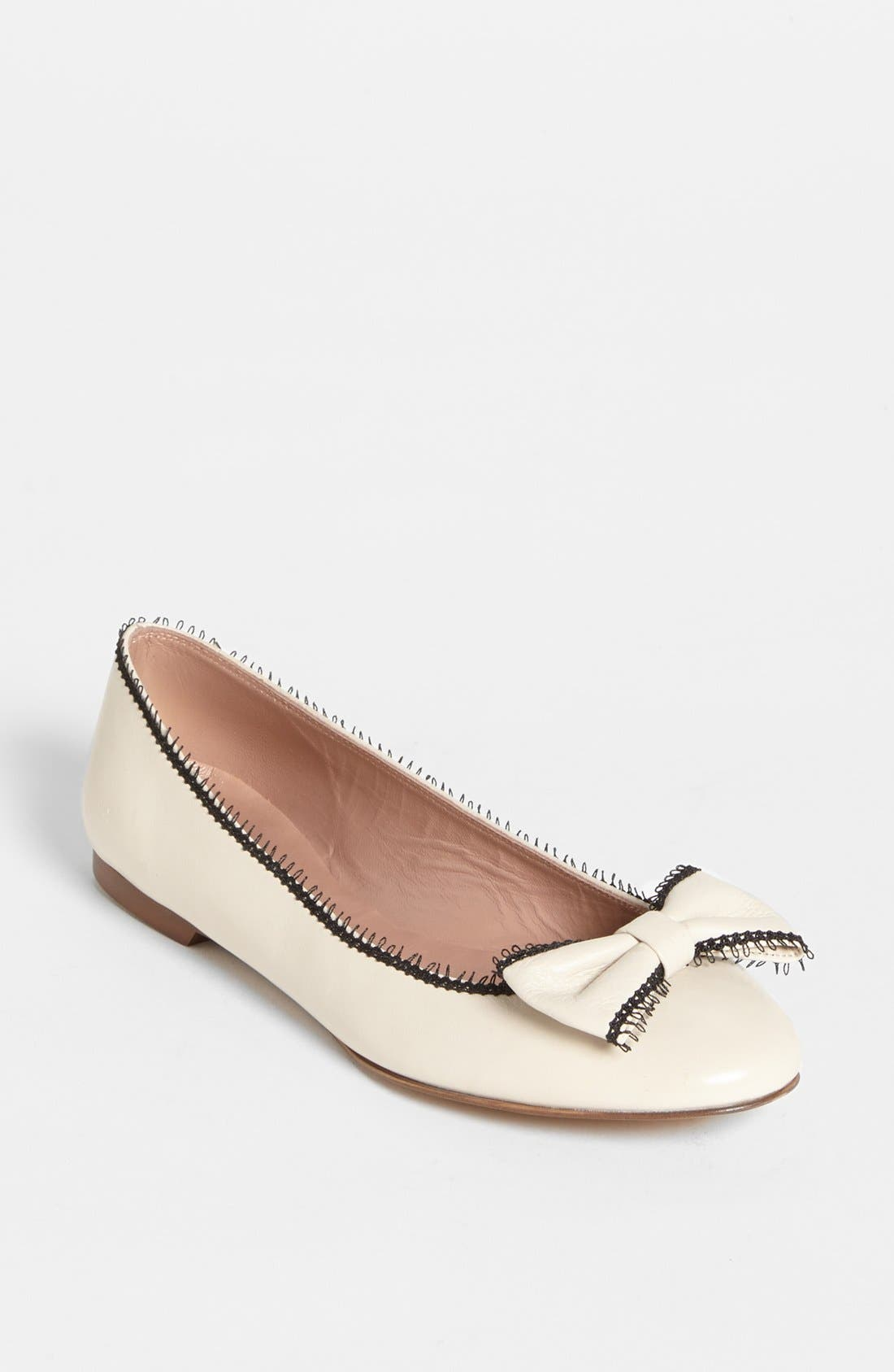 Alternate Image 1 Selected - RED Valentino Ballerina Flat (Online Only)