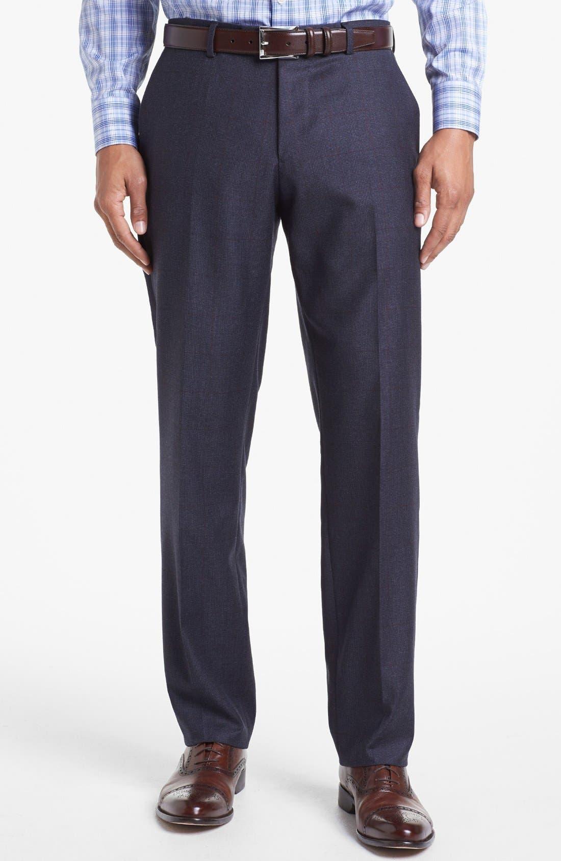 Alternate Image 5  - BOSS HUGO BOSS 'Howard/Court' Trim Fit Plaid Suit