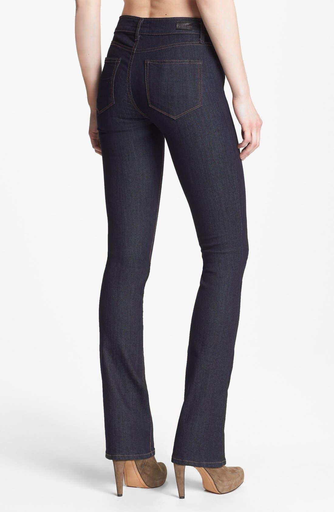 Alternate Image 2  - Paige Denim 'Manhattan' Baby Bootcut Jeans (Elyse)