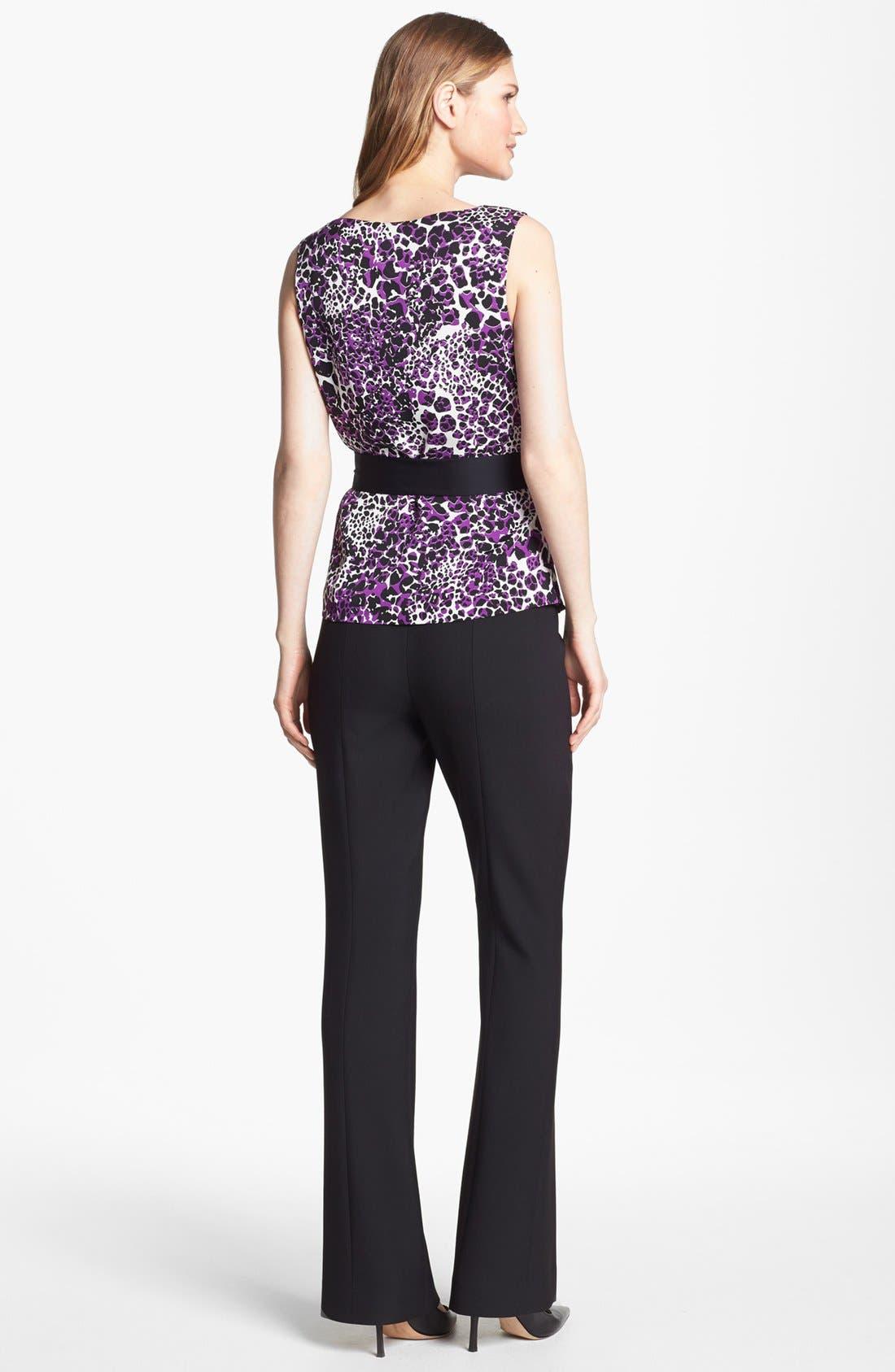 Alternate Image 6  - Classiques Entier® 'City Weave' Trousers