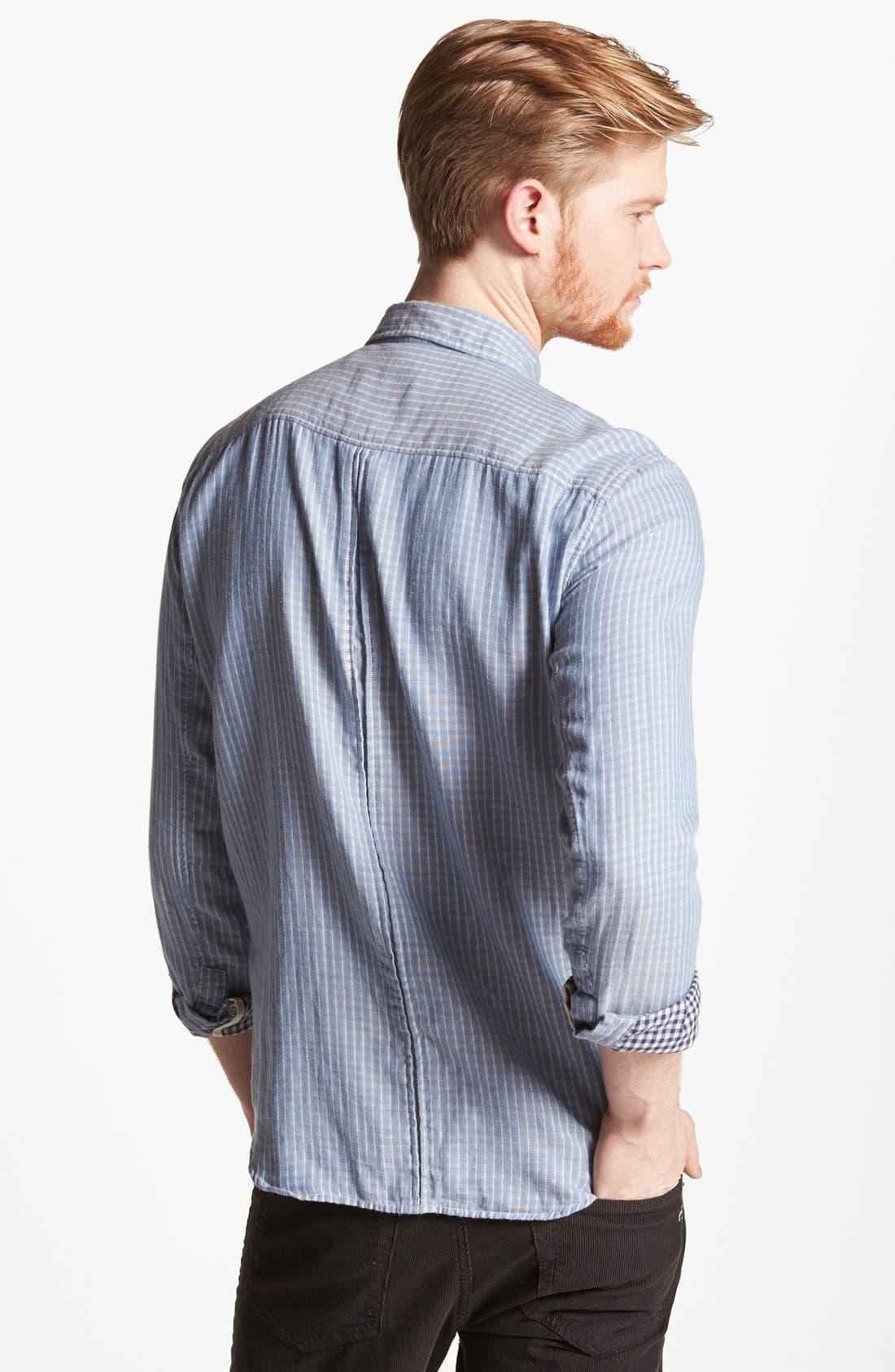 Alternate Image 2  - rag & bone 'Yokohama' Double Faced Cotton Shirt