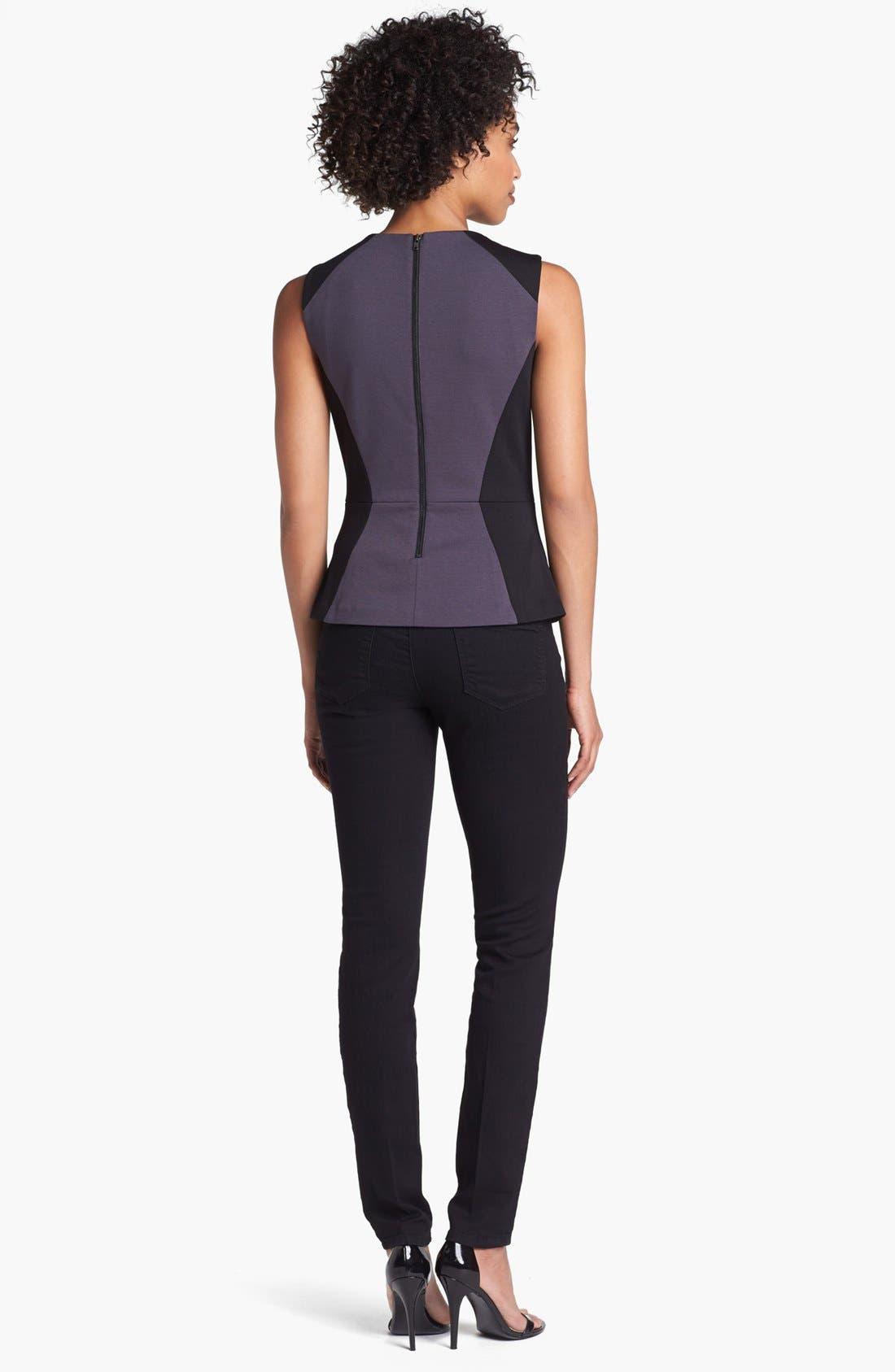 Alternate Image 5  - Wit & Wisdom Skinny Jeans (Black) (Nordstrom Exclusive)
