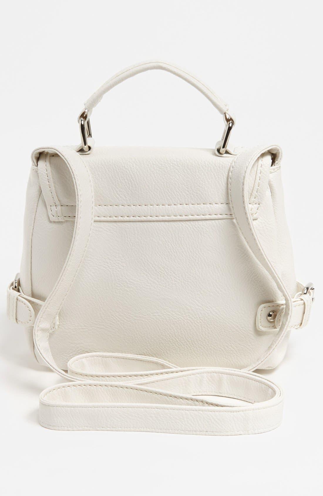 Alternate Image 4  - Cesca 'Top Notch' Crossbody Bag, Small