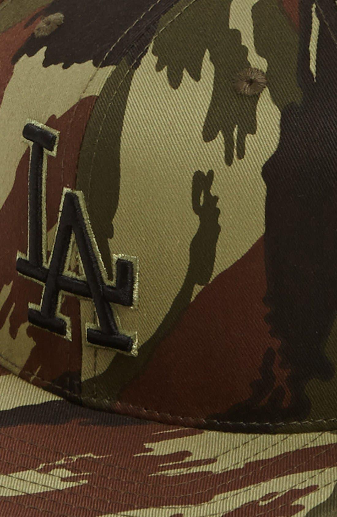 Alternate Image 2  - American Needle 'Los Angeles Dodgers - Dillon' Baseball Cap