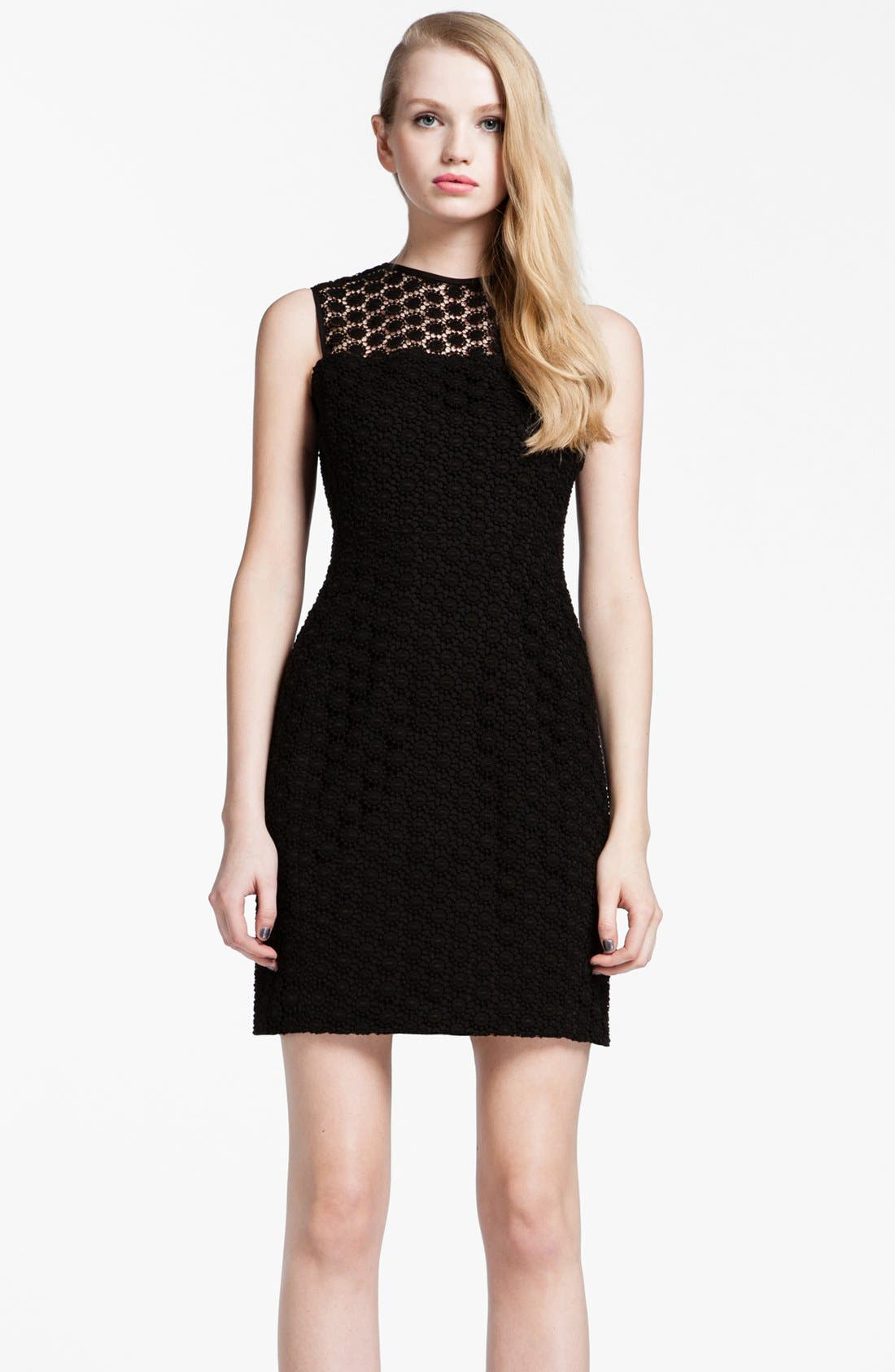 Alternate Image 1 Selected - Cynthia Steffe 'Olive' Crochet Lace Sheath Dress