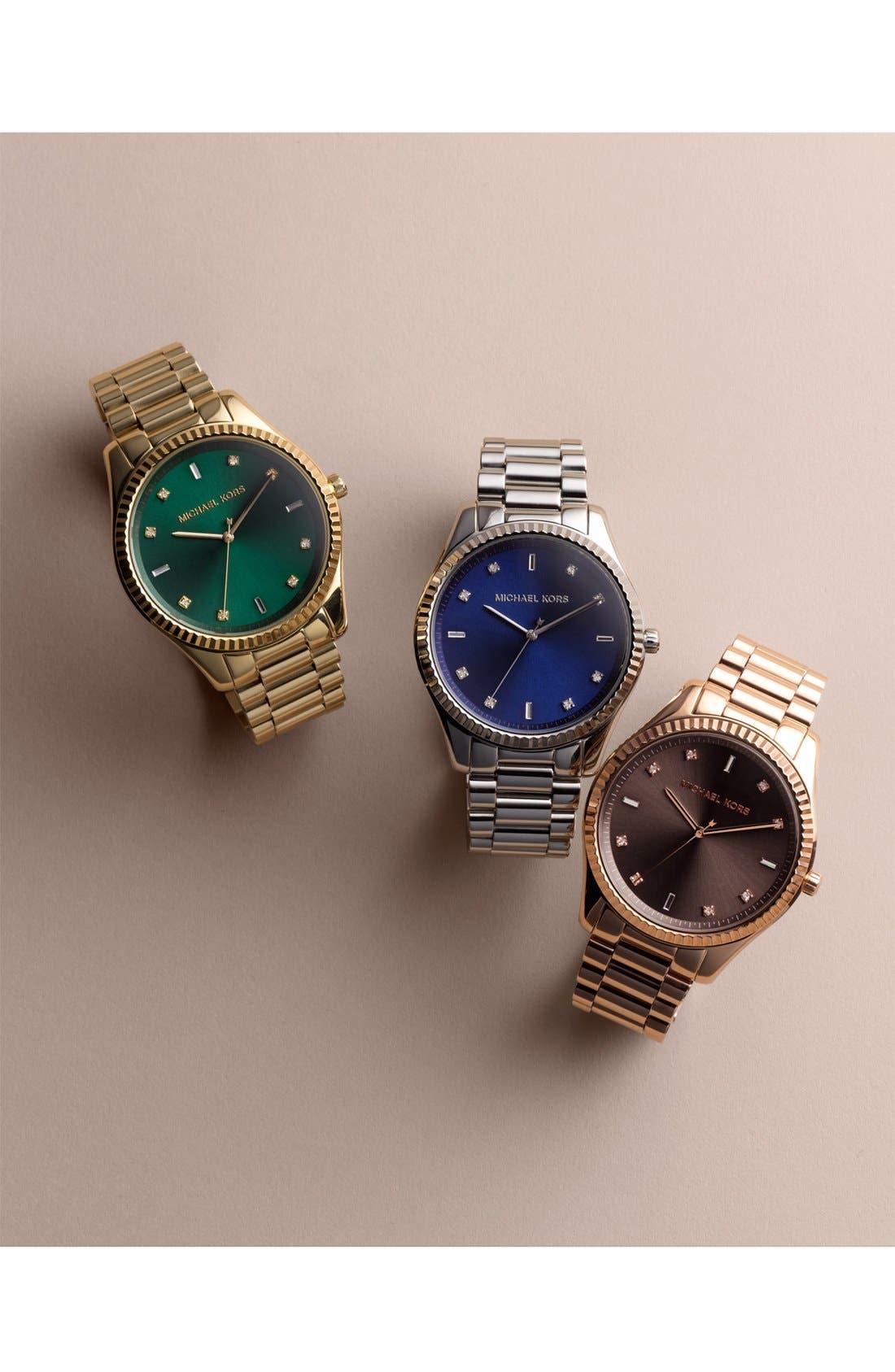 Alternate Image 6  - Michael Kors 'Blake' Bracelet Watch, 42mm