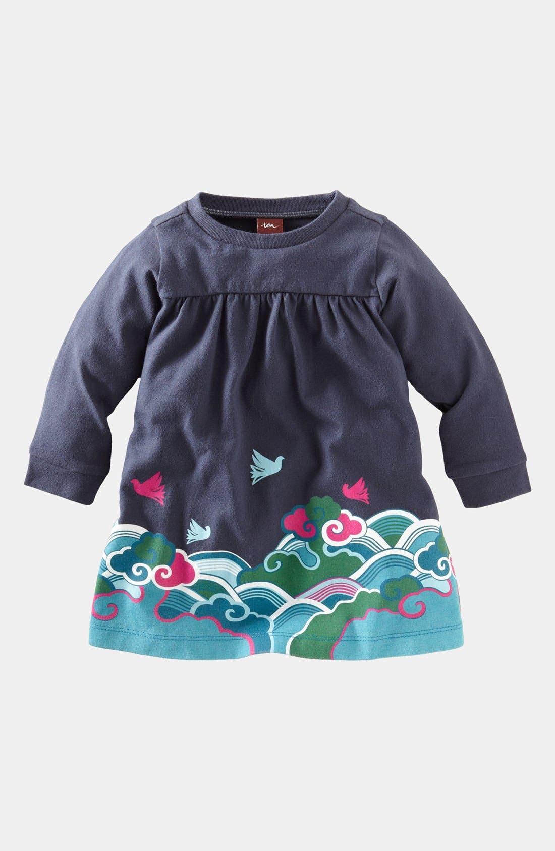 Alternate Image 1 Selected - Tea Collection 'Fantastic Flight' Dress (Baby Girls)