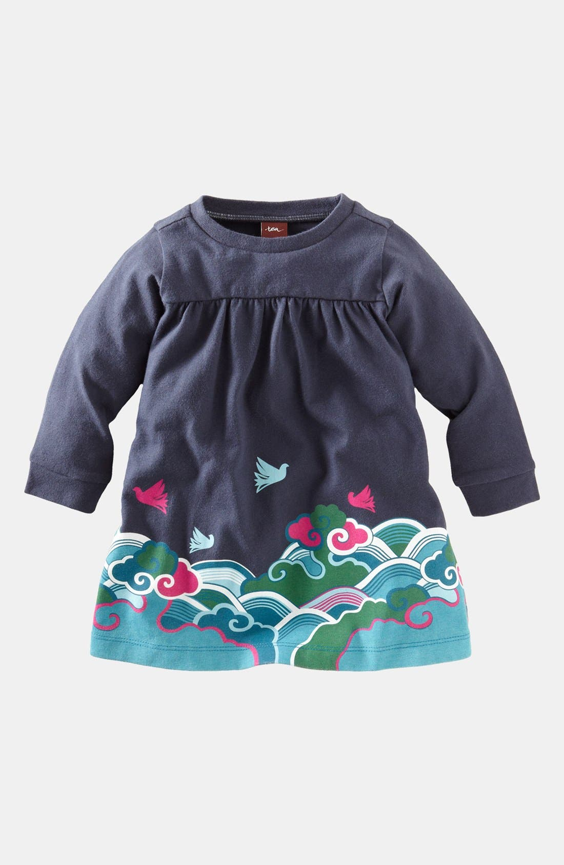 Main Image - Tea Collection 'Fantastic Flight' Dress (Baby Girls)