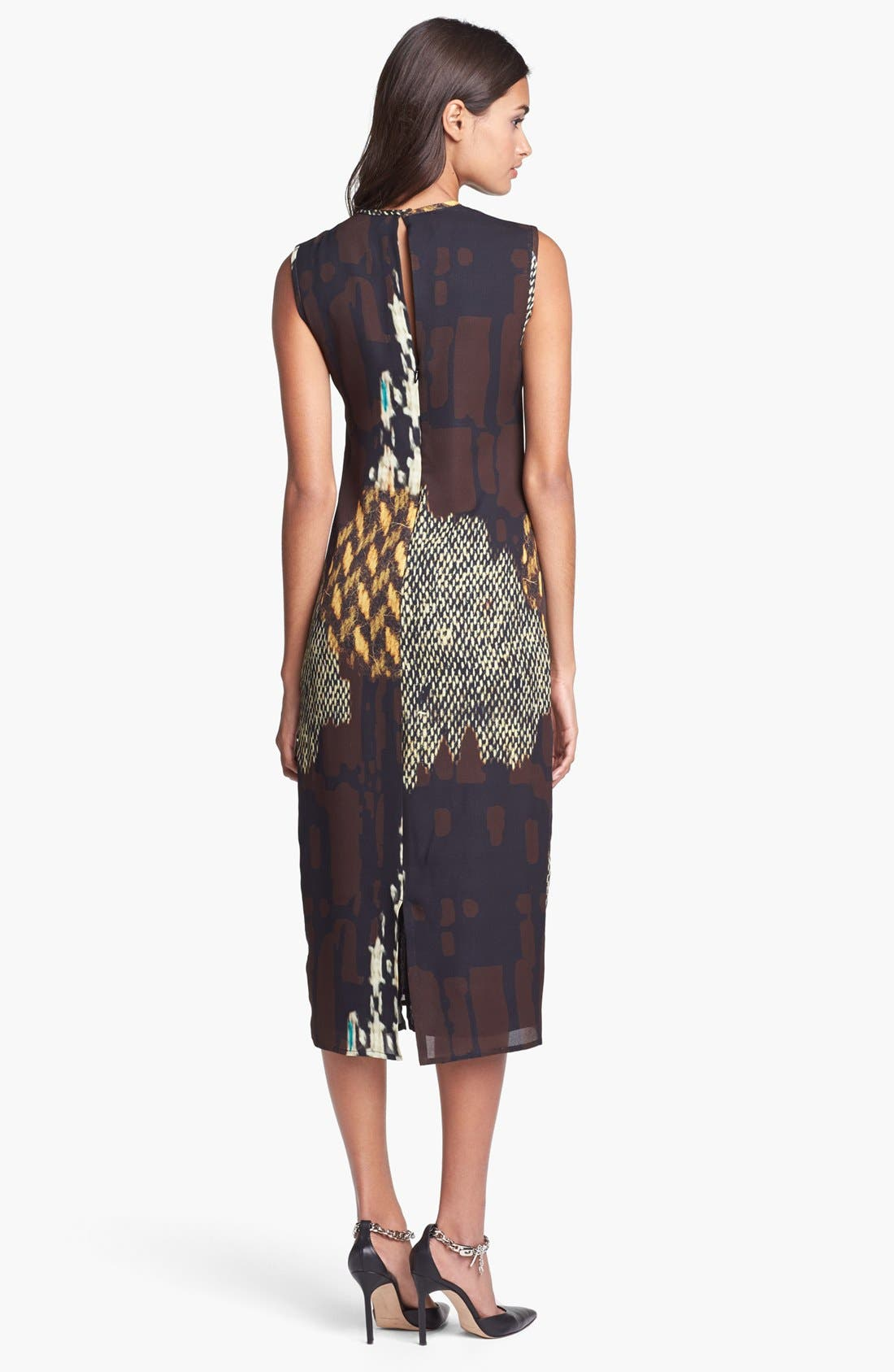 Alternate Image 2  - Trina Turk 'Lottie' Print Midi Dress