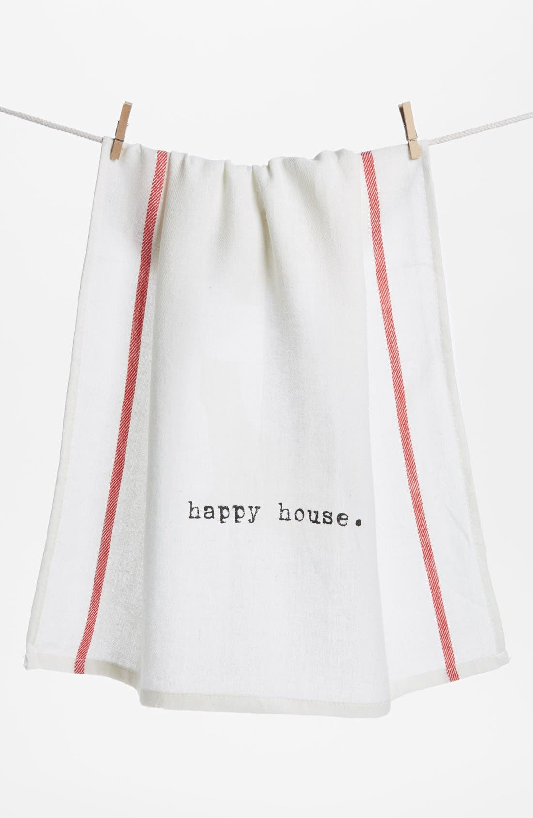 Alternate Image 1 Selected - Second Nature by Hand 'Happy House' Towel