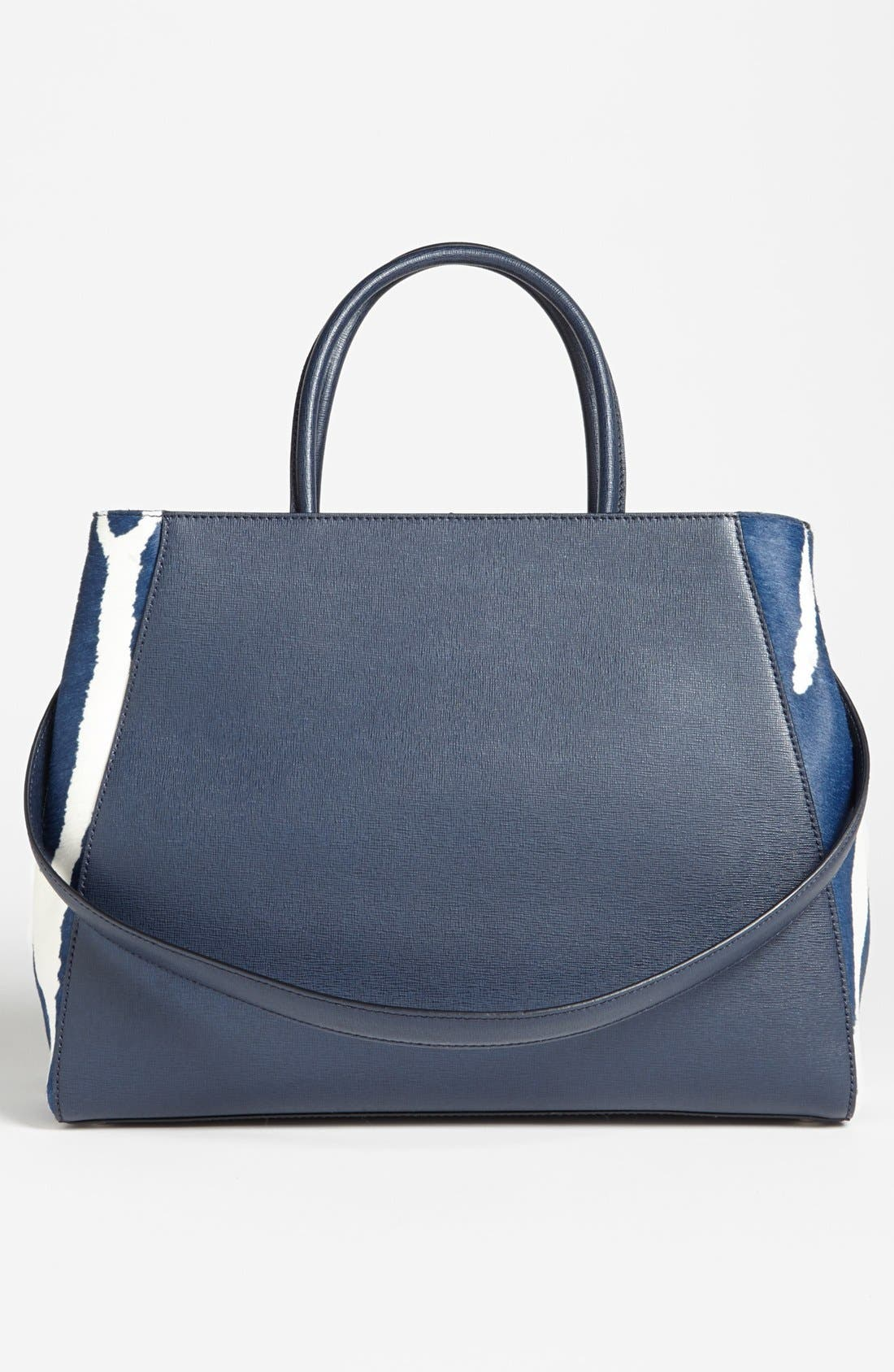 Alternate Image 6  - Fendi '2Jours - Medium' Calf Hair Shopper
