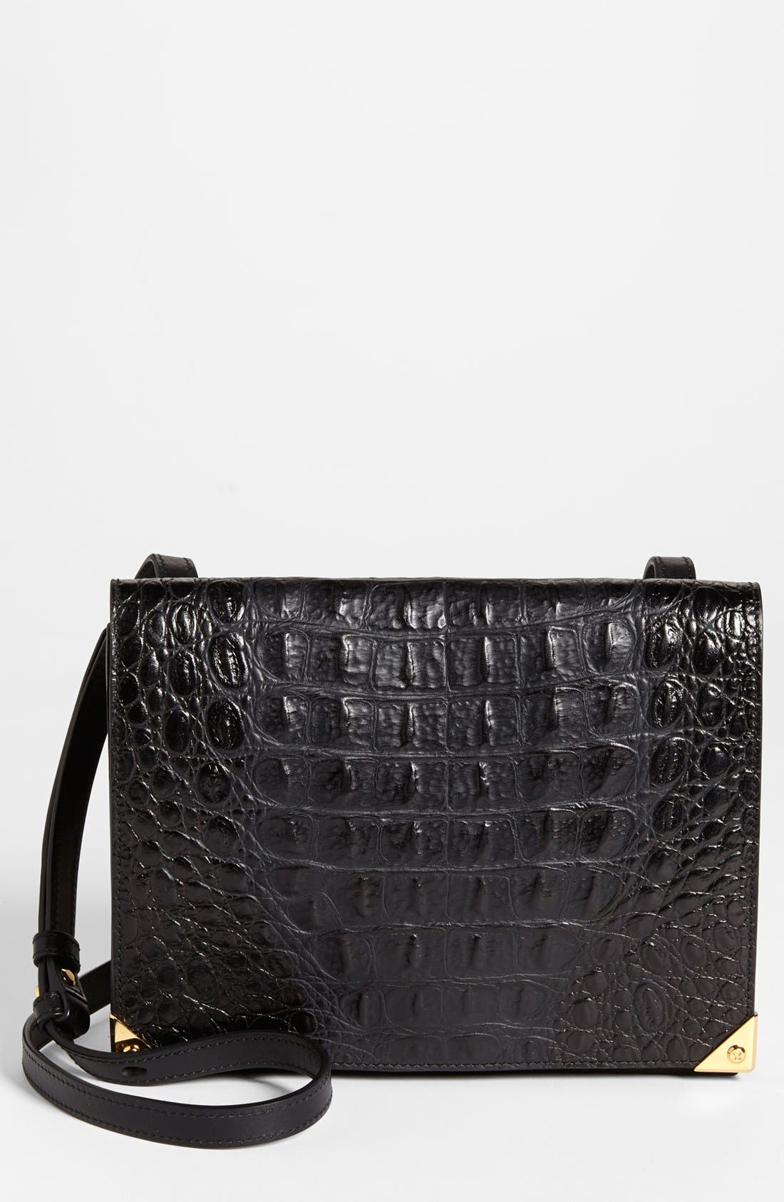Alternate Image 1 Selected - Alexander Wang 'Prisma' Hornback Embossed Crossbody Bag, Small