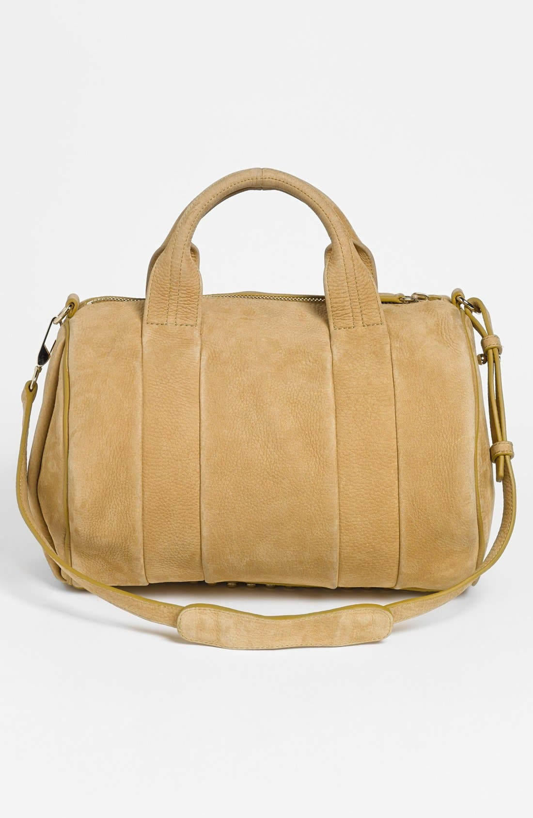 Alternate Image 4  - Alexander Wang 'Rocco Dumbo Slick - Pale Gold' Leather Satchel