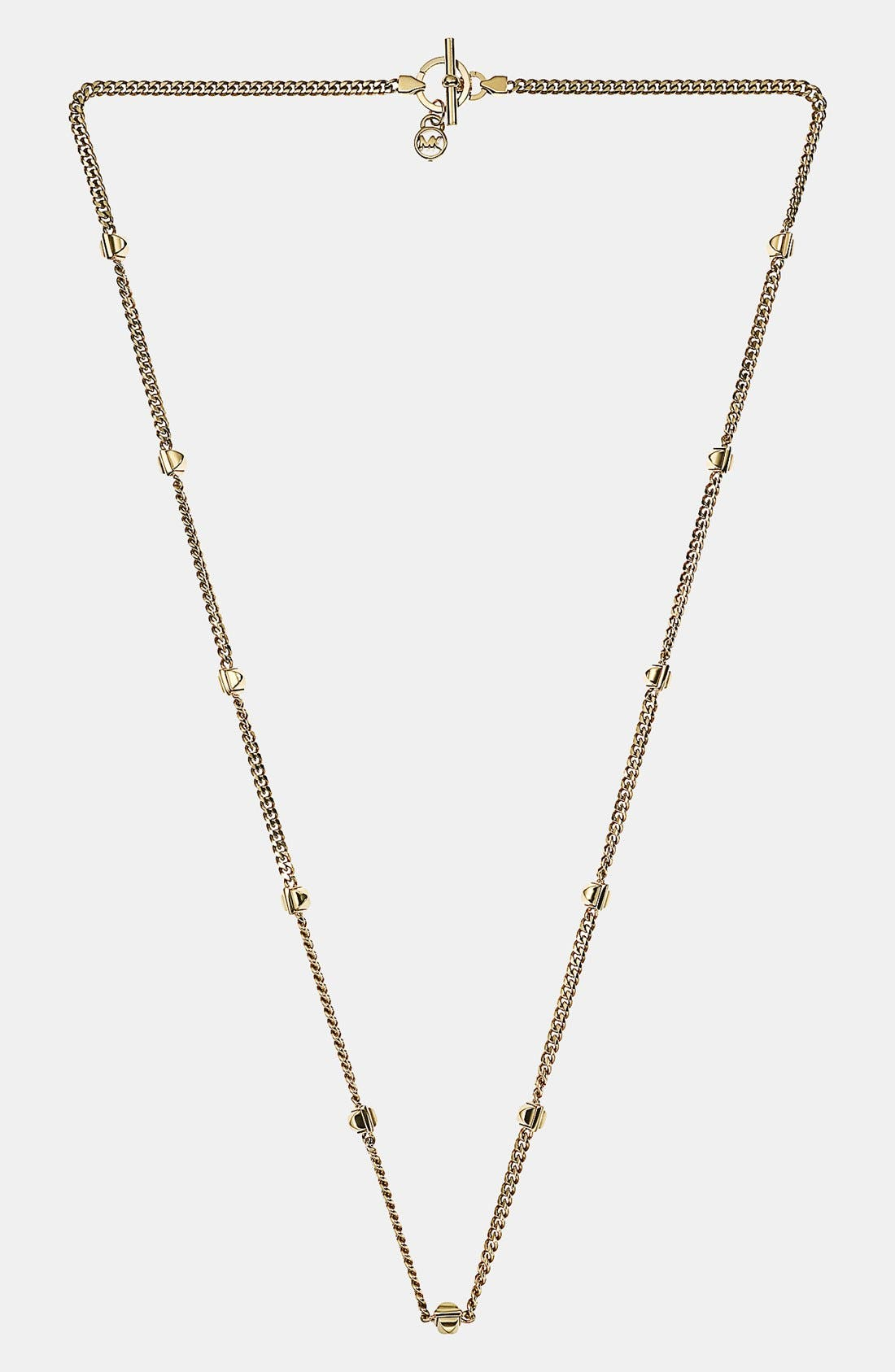 Main Image - Michael Kors 'Glam Rock' Long Station Necklace