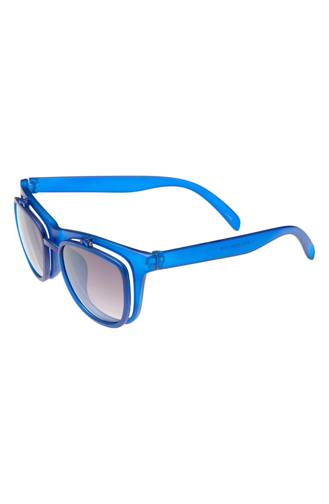 Alternate Image 1 Selected - Icon Eyewear 'Mason' Flip-Up Sunglasses (Boys)