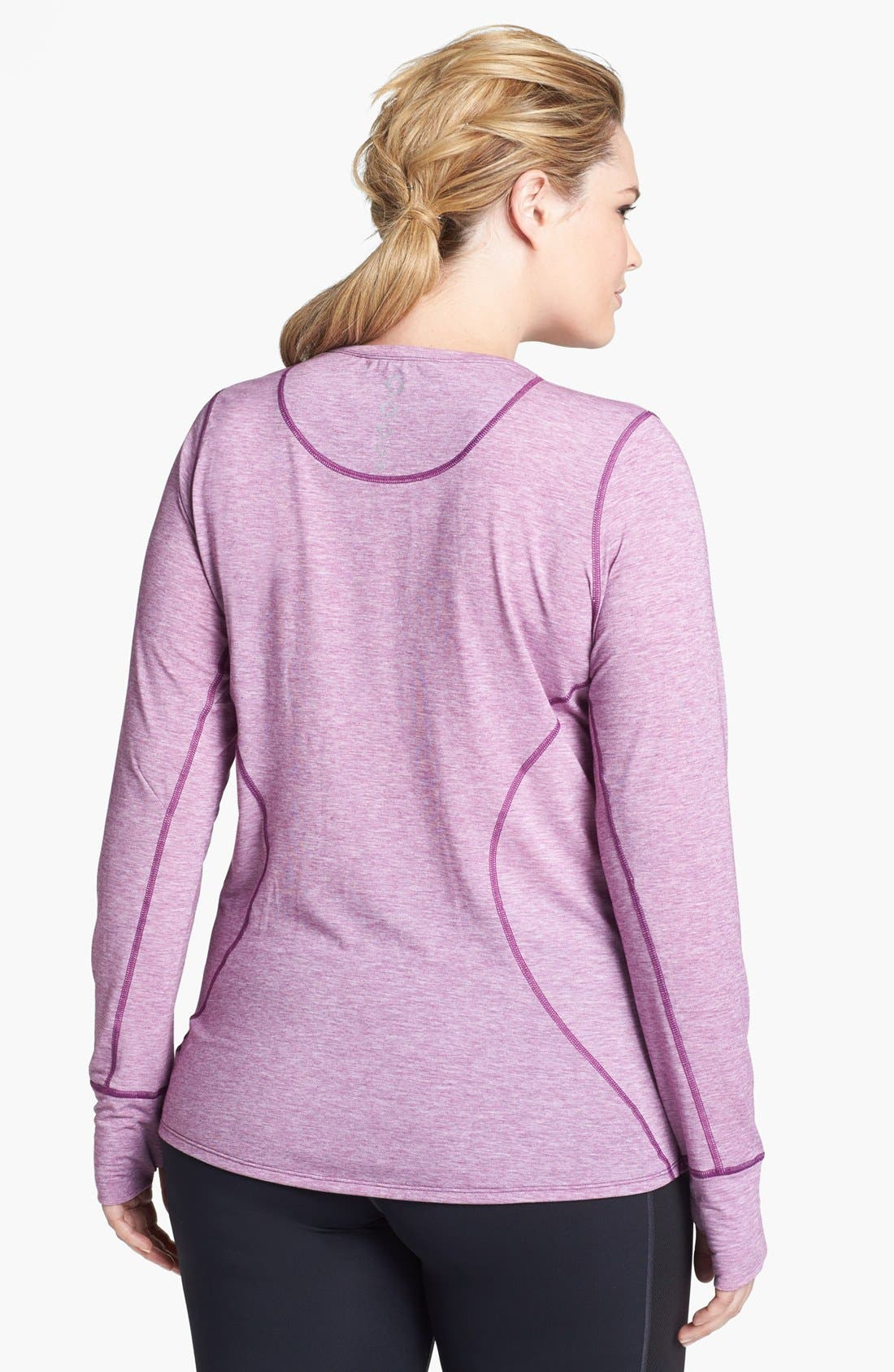 Alternate Image 2  - Moving Comfort 'Endurance' Long Sleeve Tee (Plus Size)