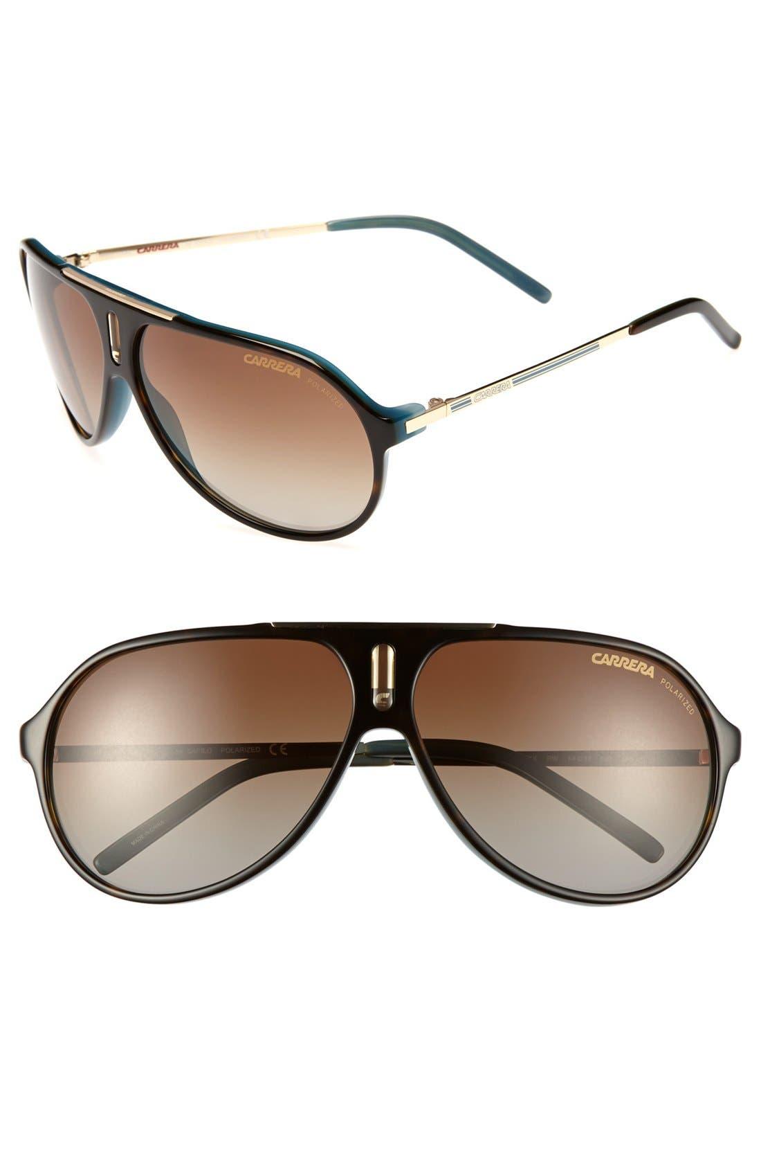 Alternate Image 1 Selected - Carrera Eyewear 'Hot' 64mm Sunglasses
