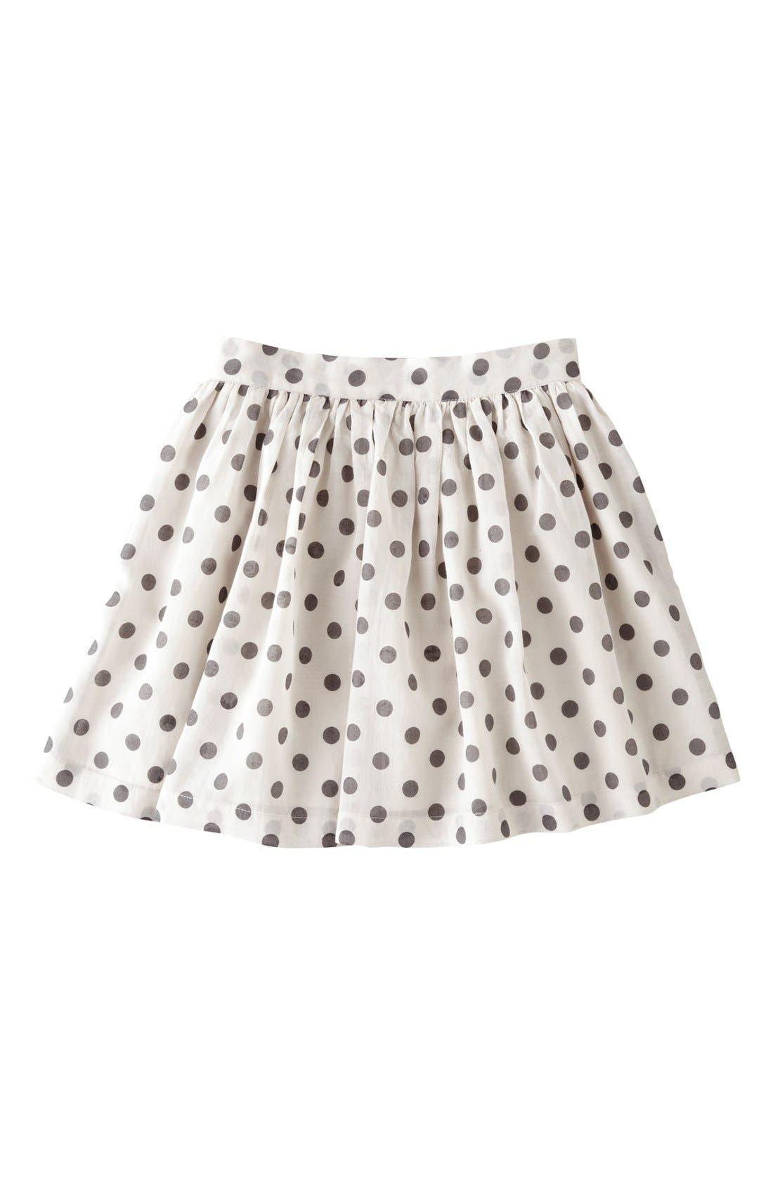 Alternate Image 1 Selected - Mini Boden Print Voile Skirt (Little Girls & Big Girls)