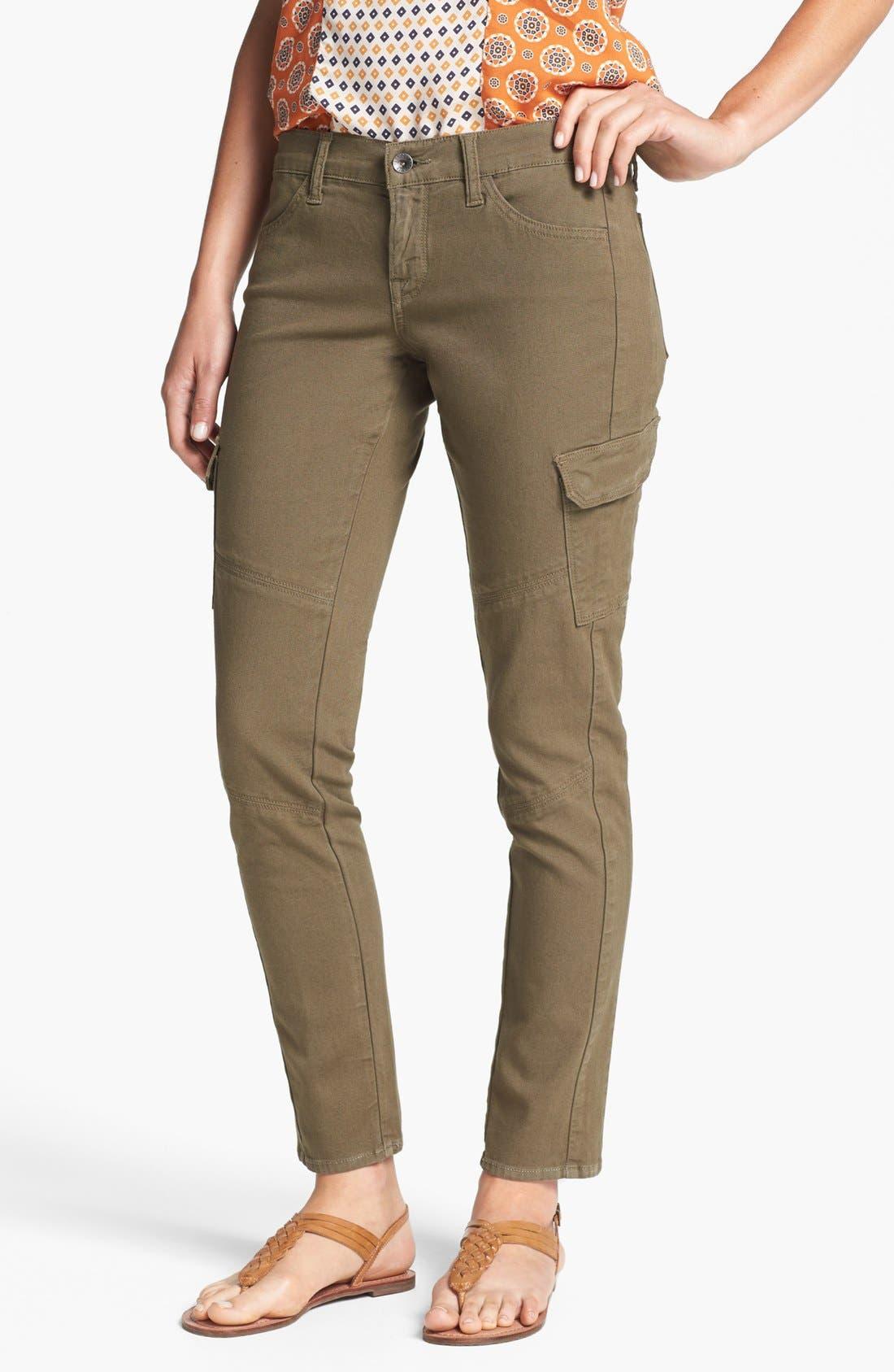 Main Image - Lucky Brand 'Charlie' Cargo Skinny Pants